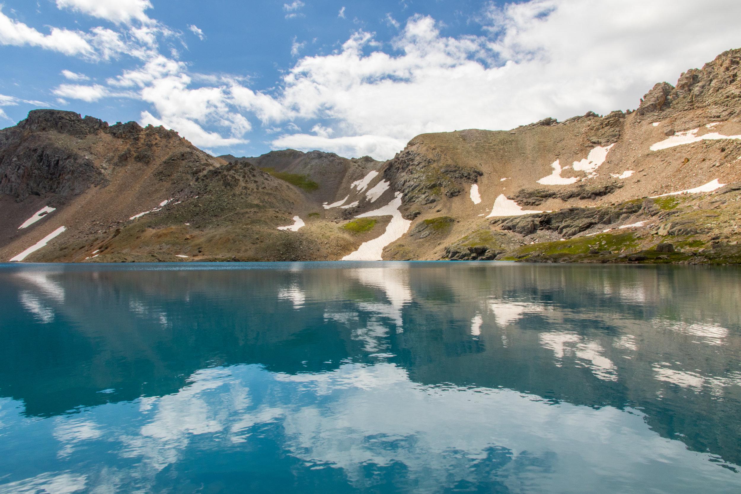 Columbine Lake Reflection
