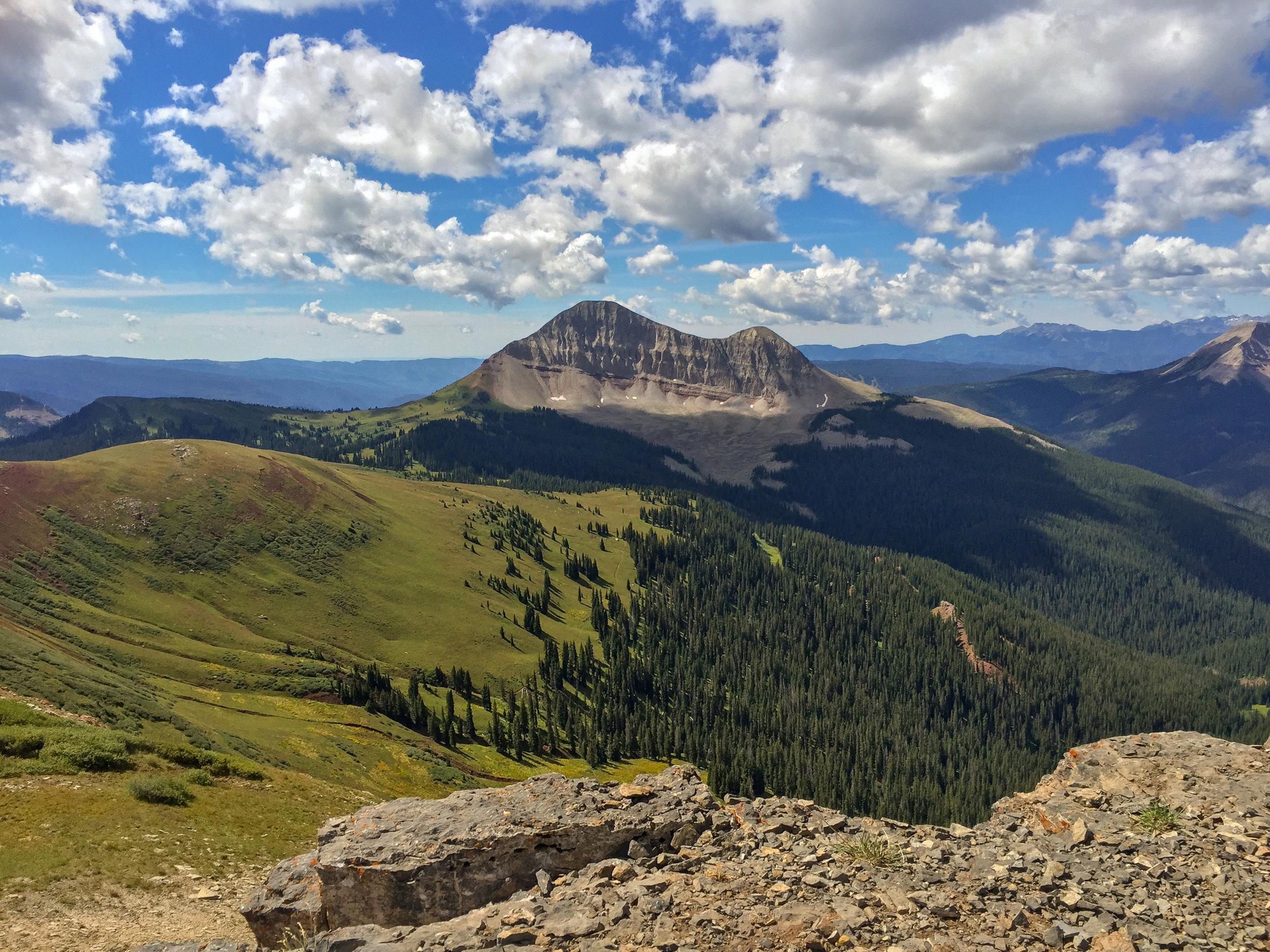 Engineer Mountain from Jura Knob