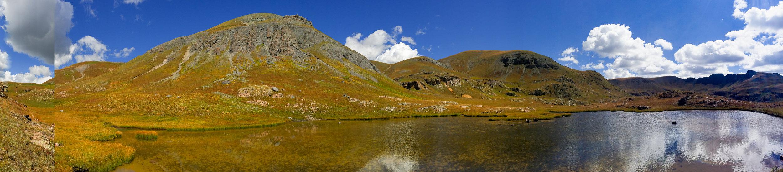 Little Pond below Whitehead Peak