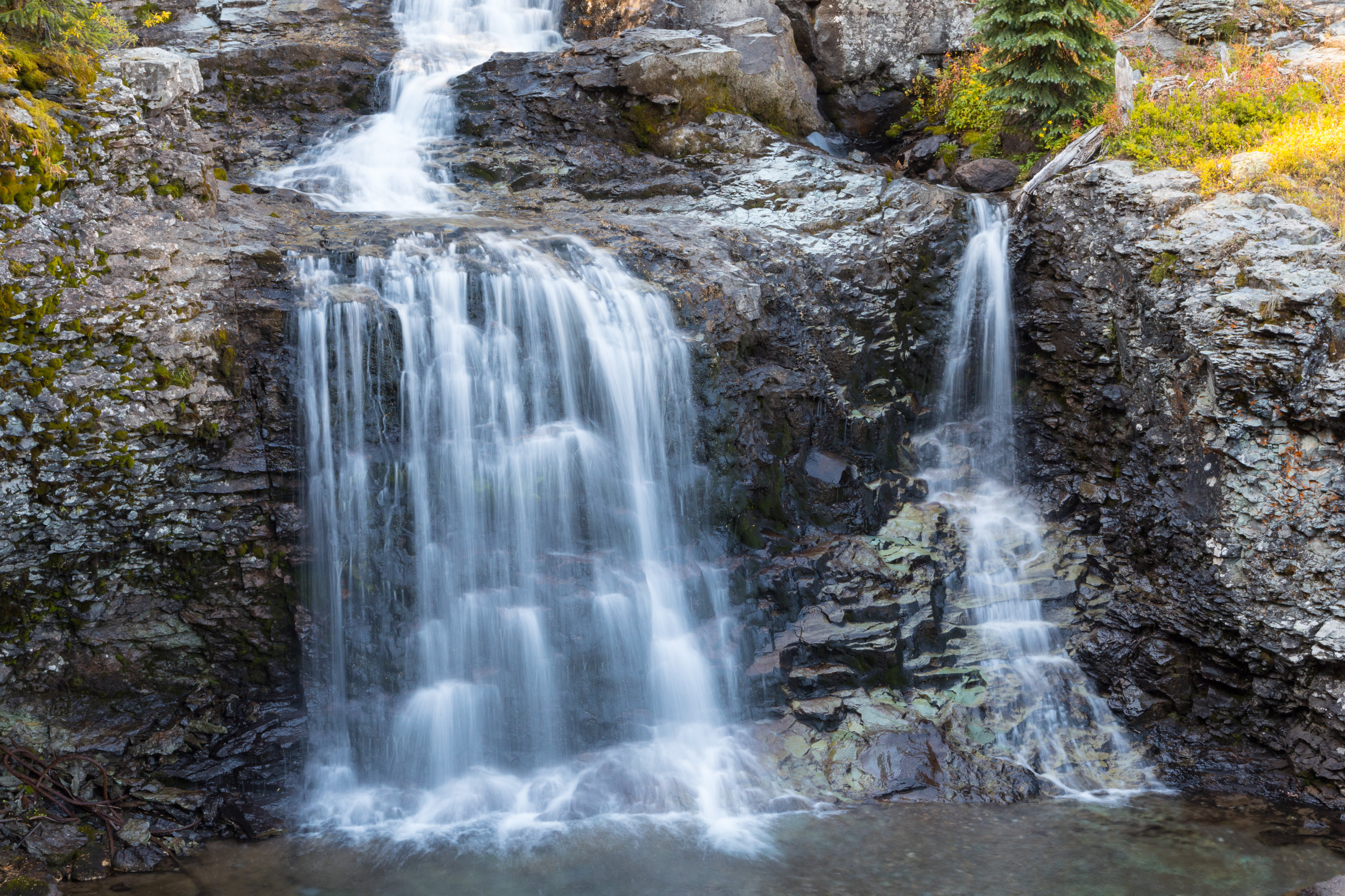 Waterfall Along the trail to Lewis Mill, Image # 1955