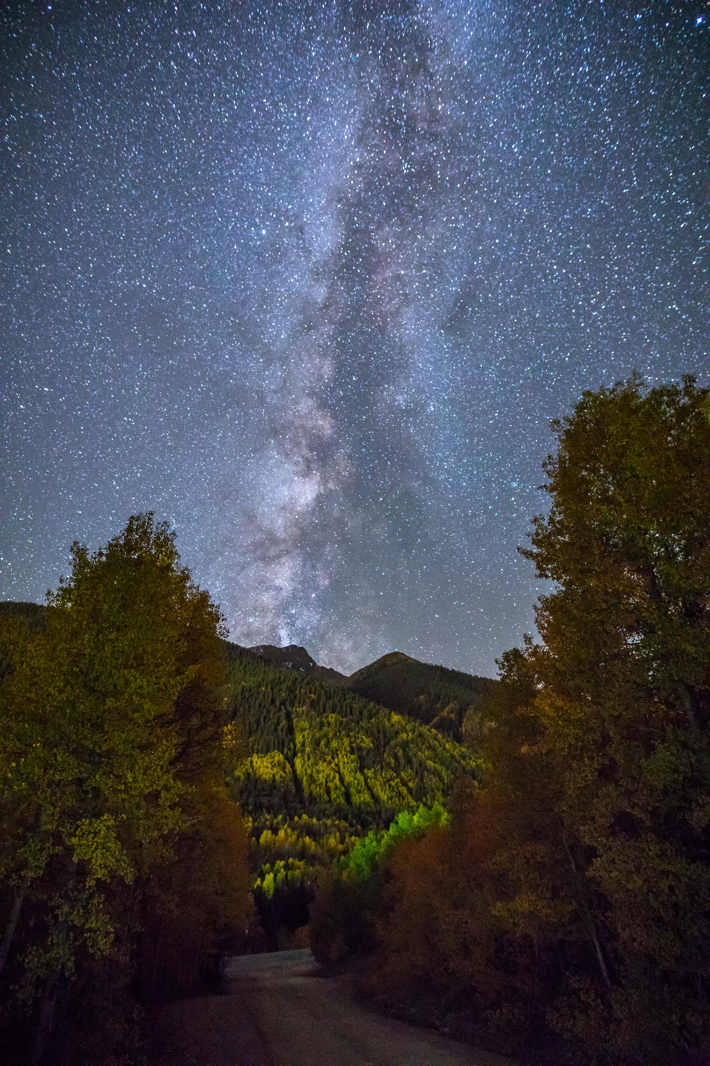 Milky Way in Silverton, Colorado Image # 1780