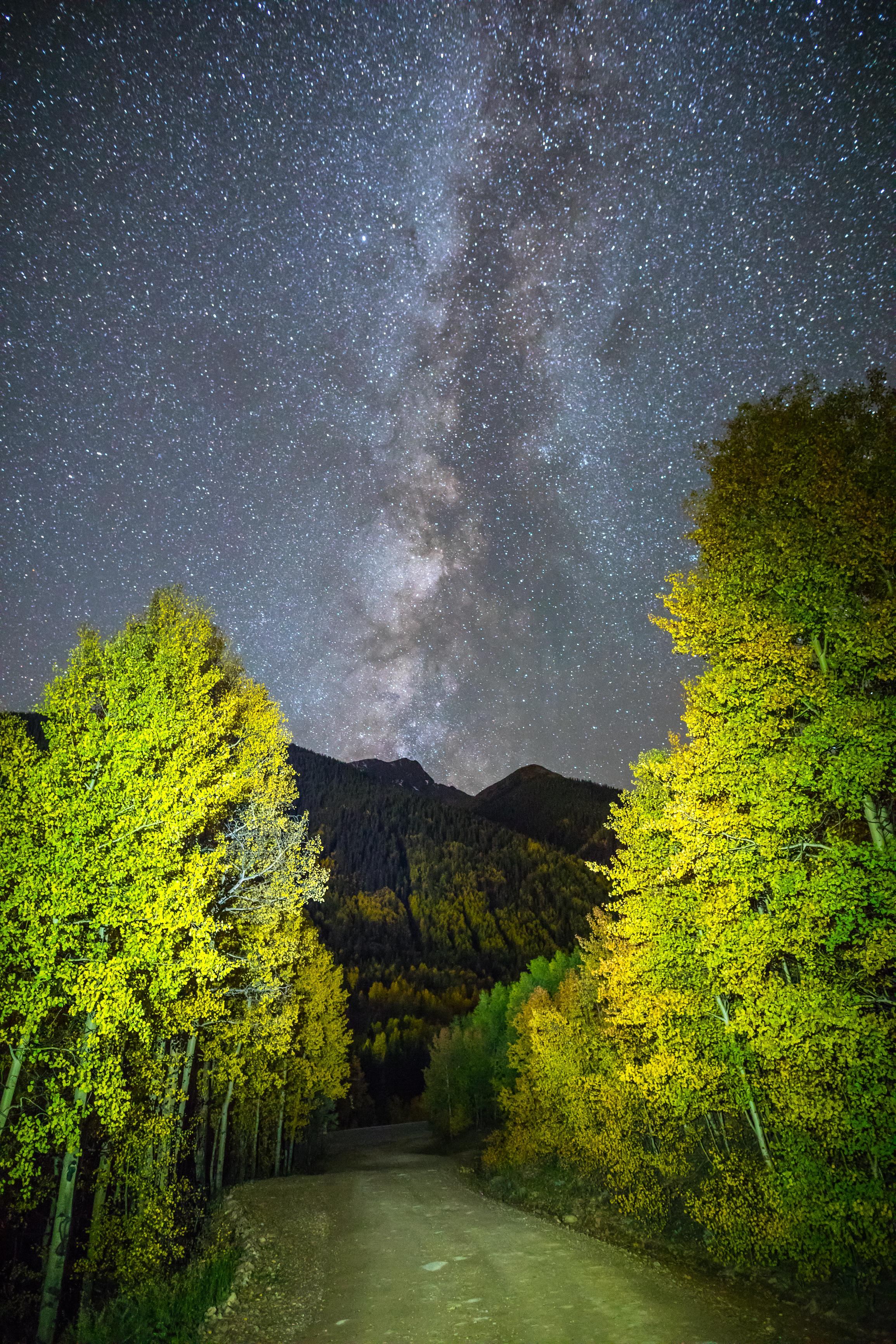 Milky Way in Silverton, Colorado Image # 1784