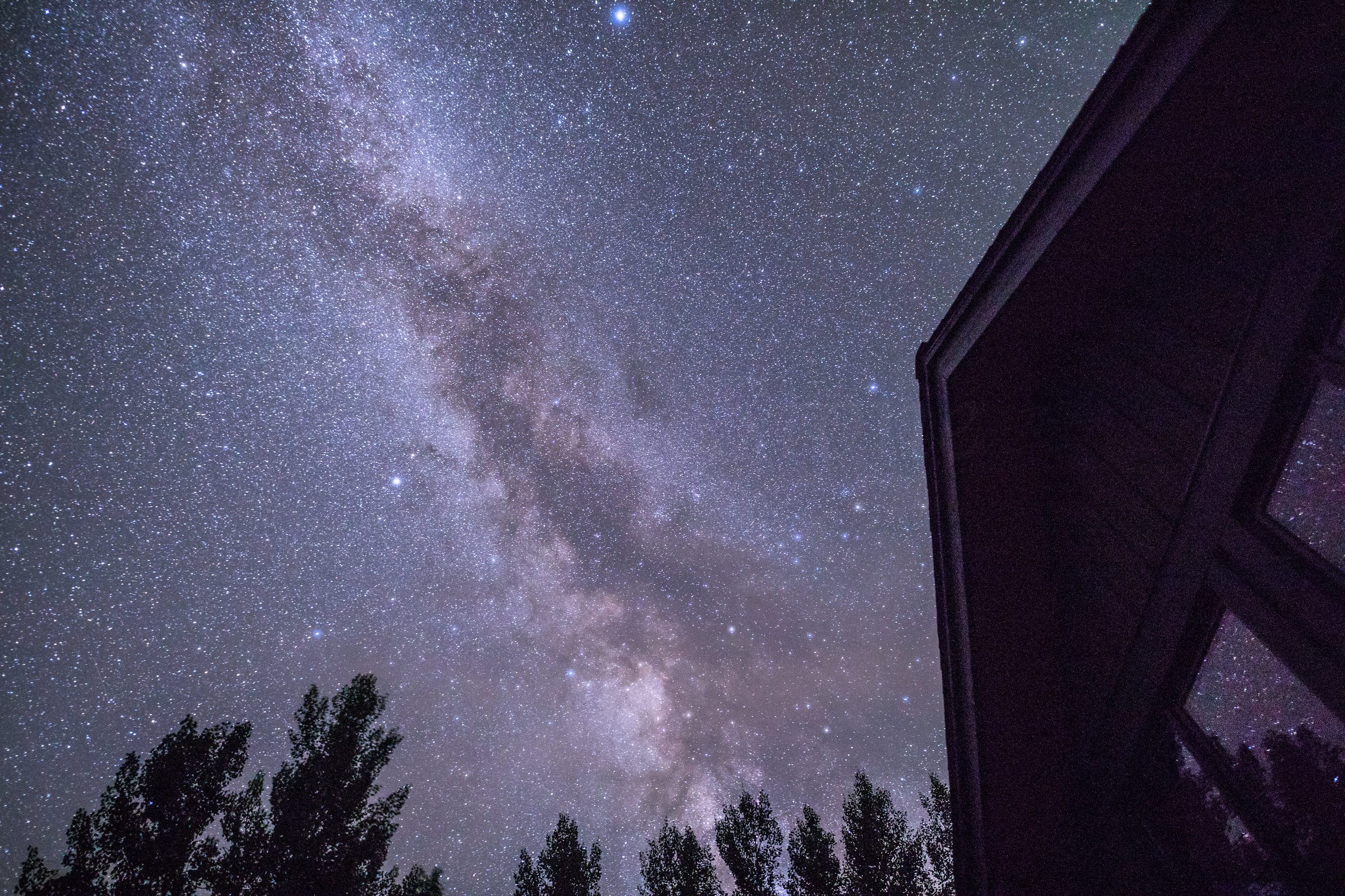 Milky Way over our Durango House, Image # 7347