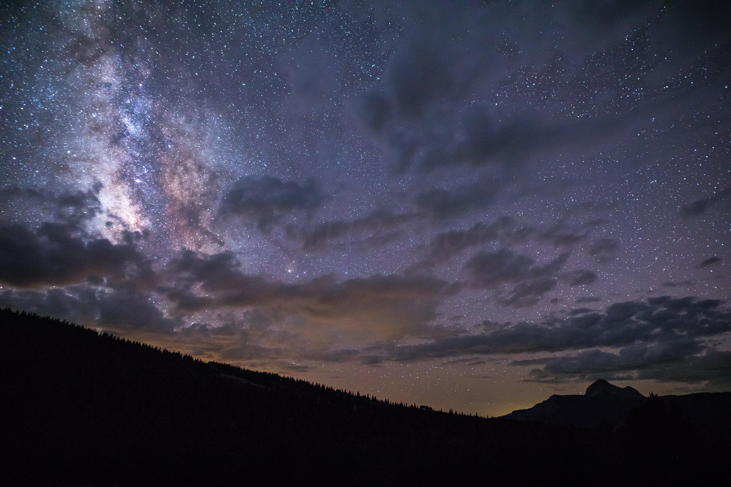 Engineer Mountain Milky Way, Image # 7485