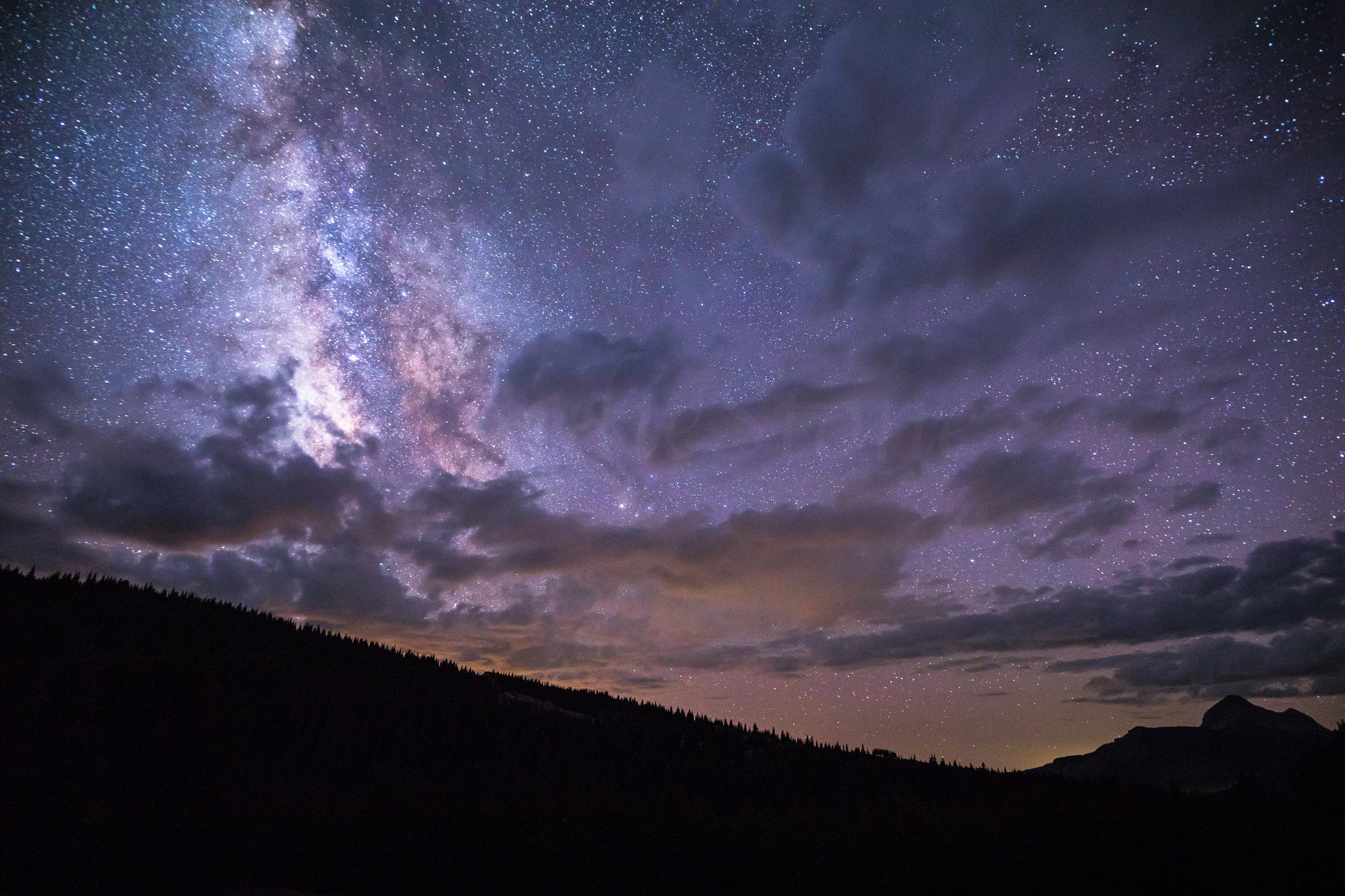Engineer Mountain Milky Way, Image # 7486
