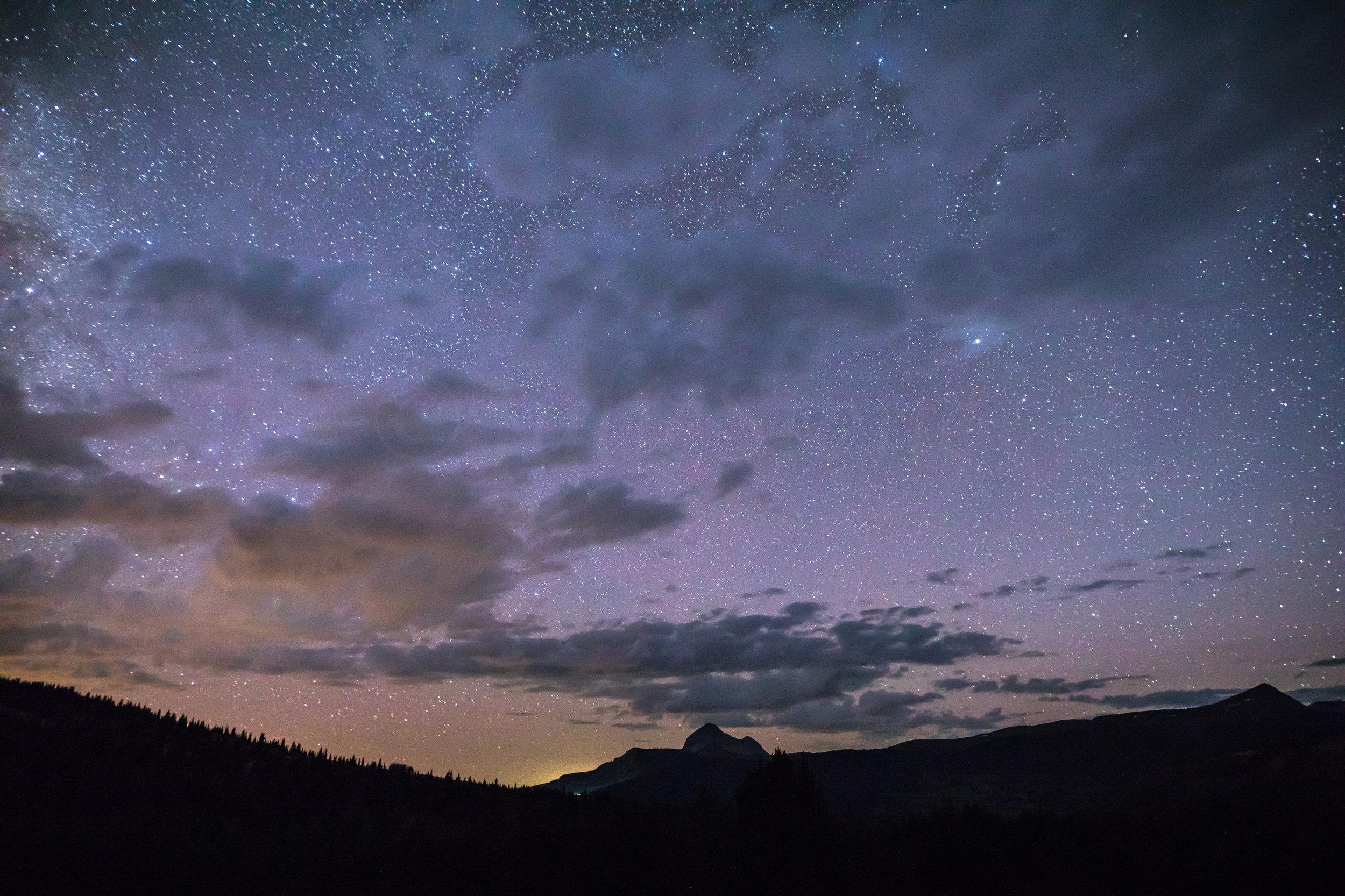 Engineer Mountain Milky Way, Image # 7493