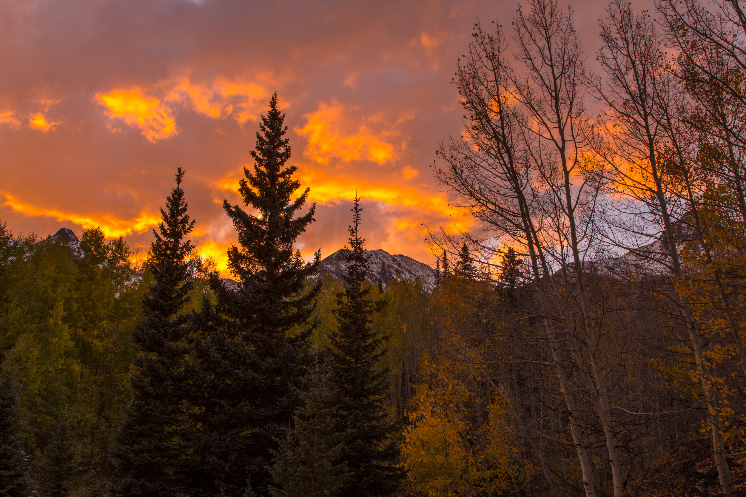 Red Mountain Sunset, Image # 5343