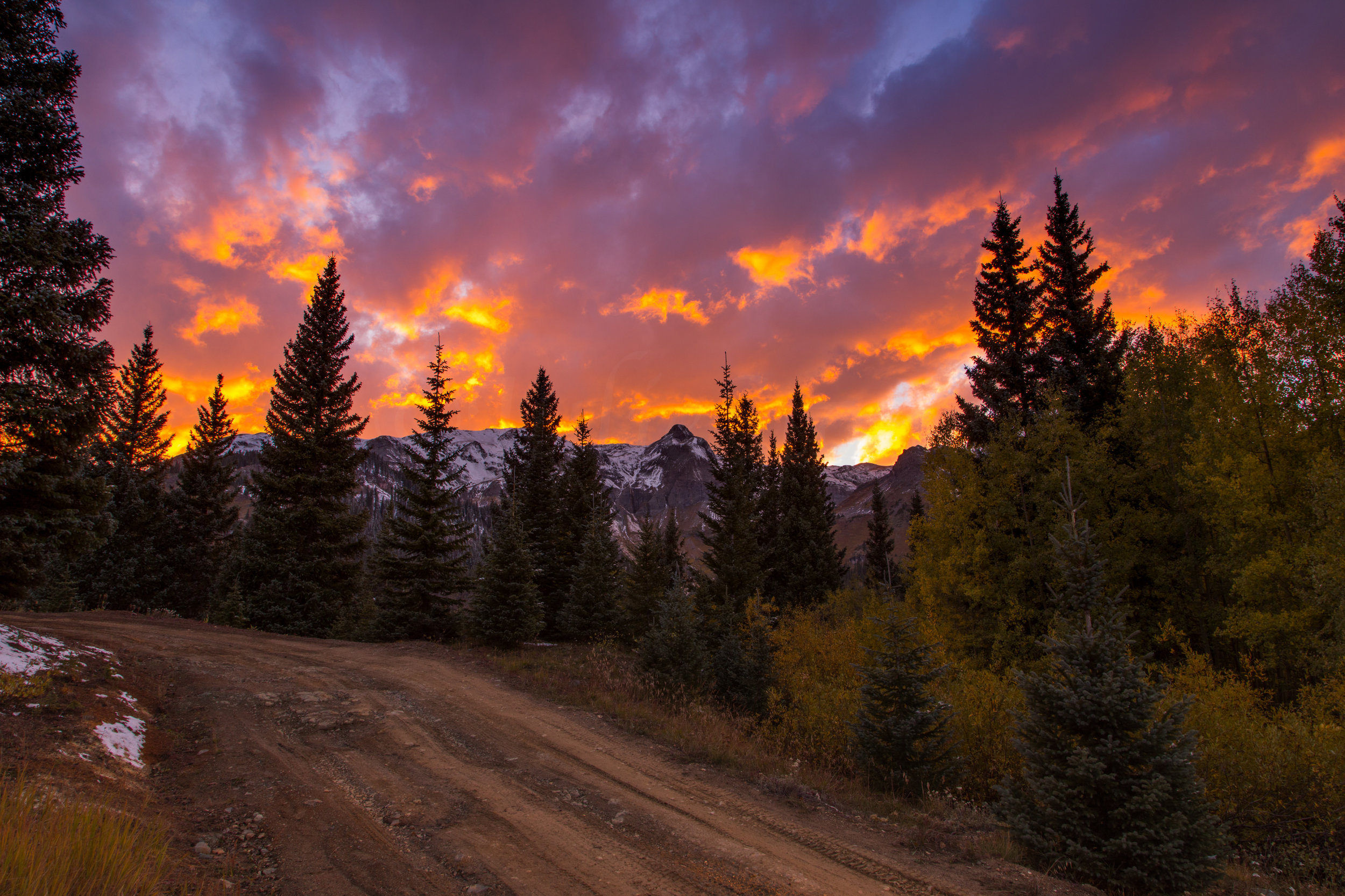 Red Mountain Sunset, Image # 5351