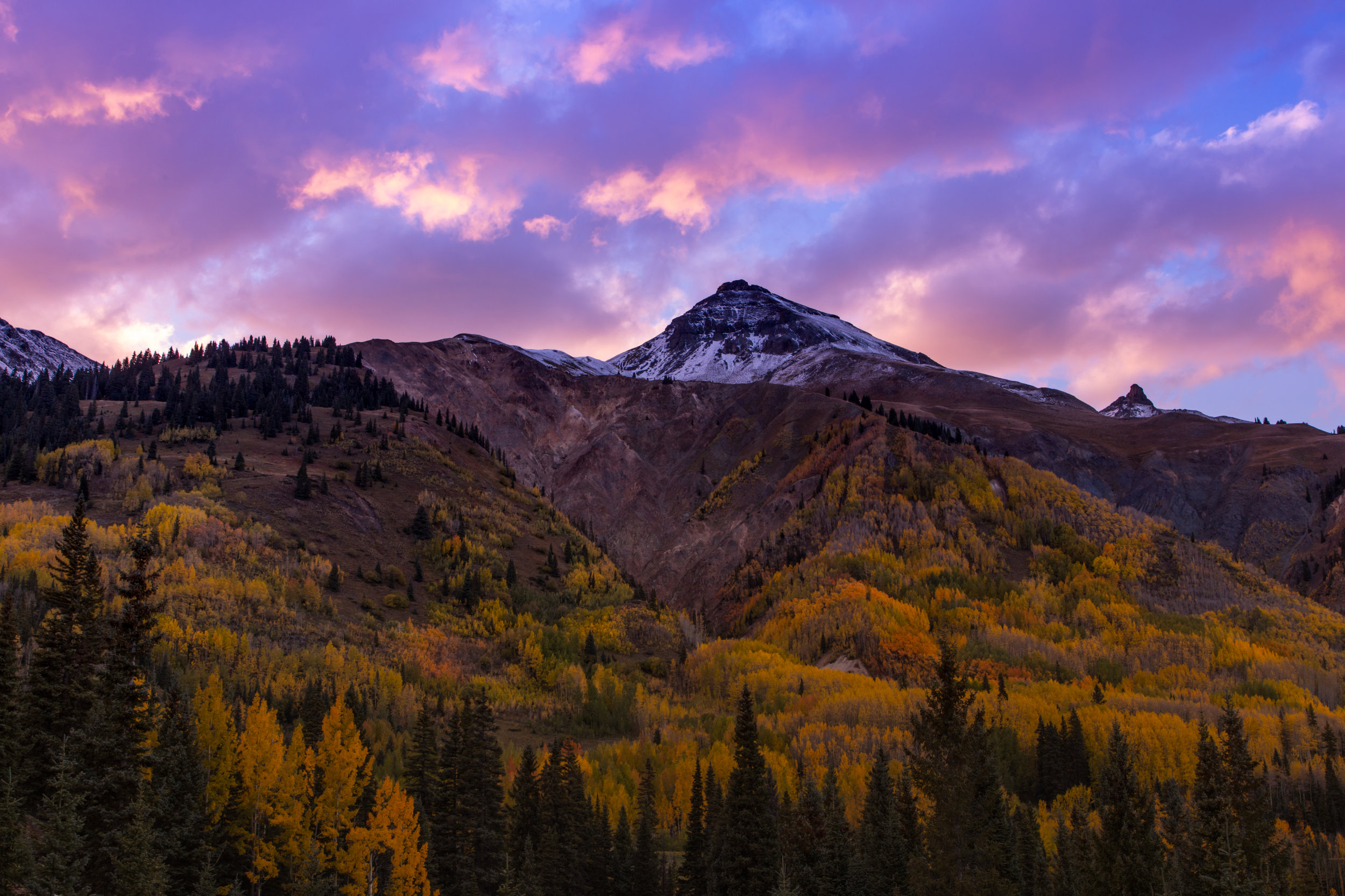 Red Mountain Sunset, Image # 5338