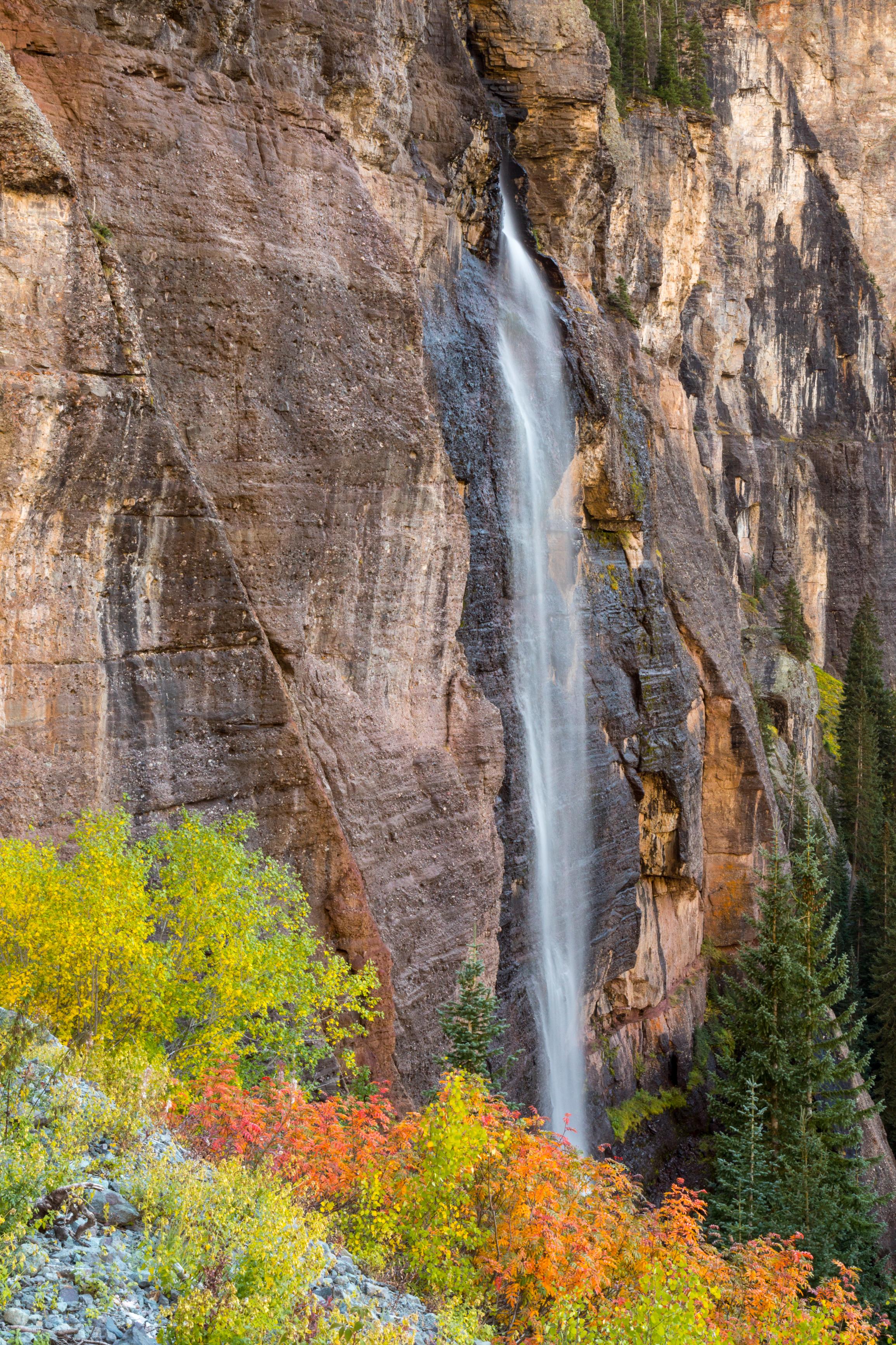 Bridal Veil Falls, Telluride, Image # 3174