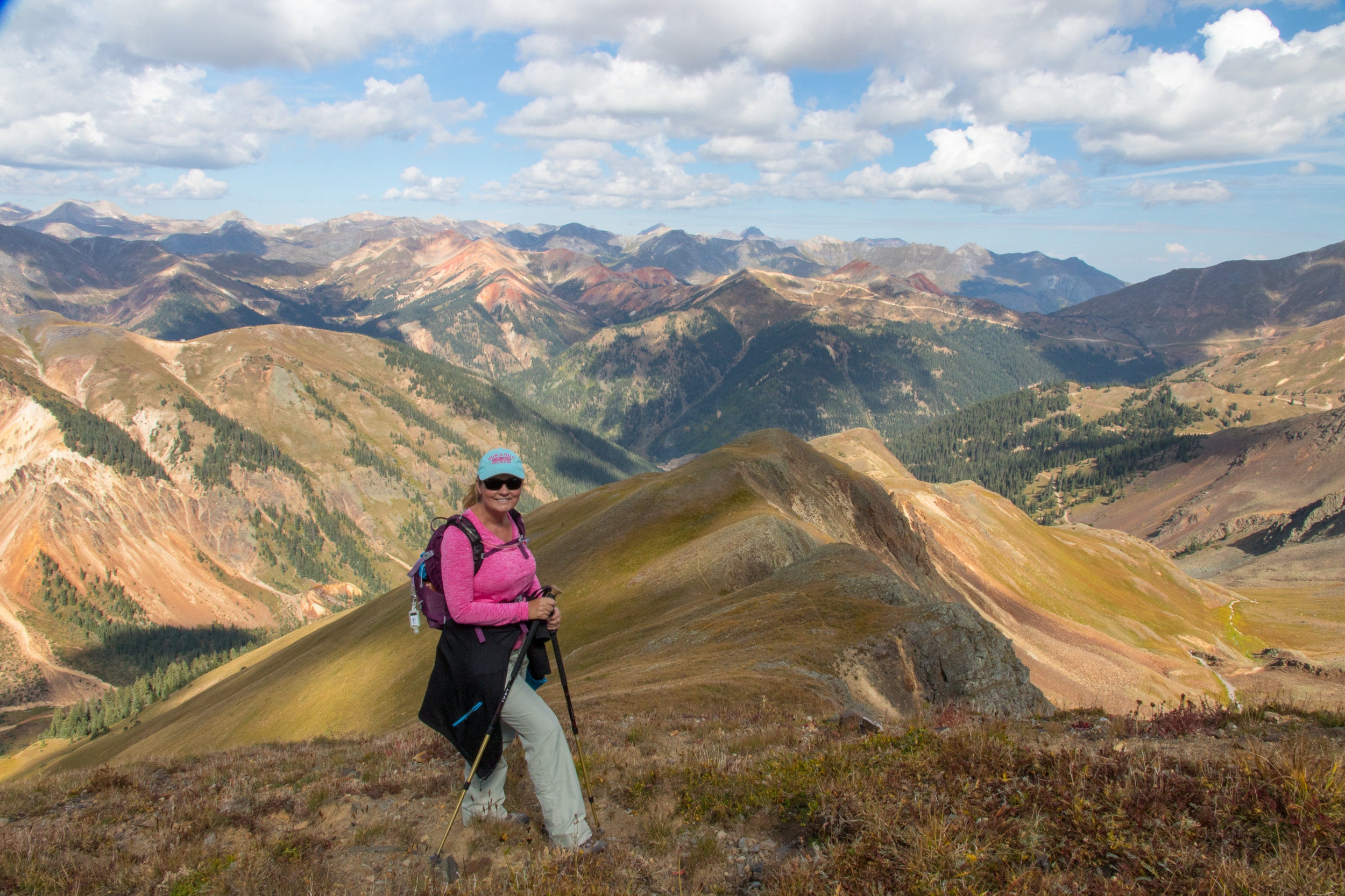 Lisa Vajda on route to Tower Mountain, Image # 7493