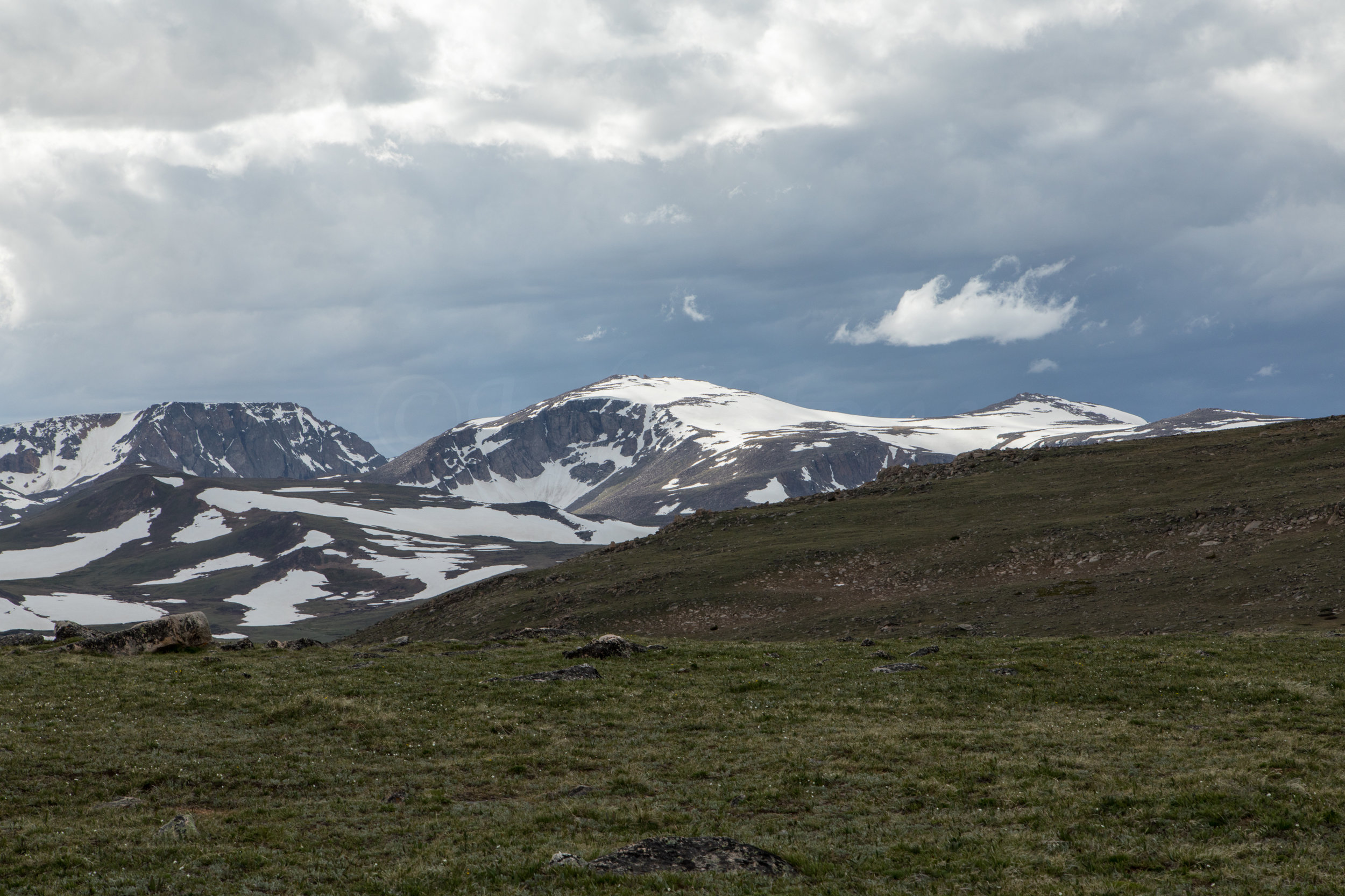 Mountain Views along Beartooth Highway, Image # 6508