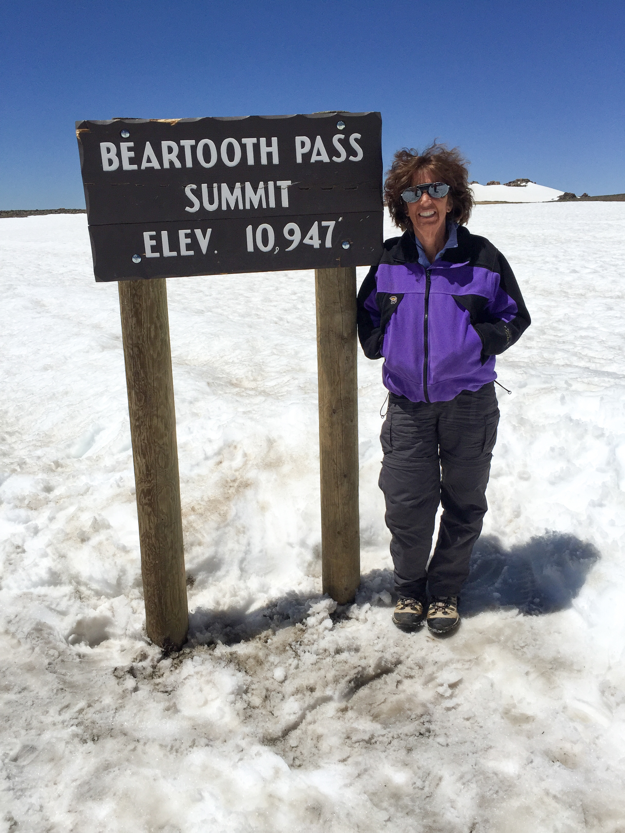 Do you think it's cold and windy on Beartooth Pass in June?