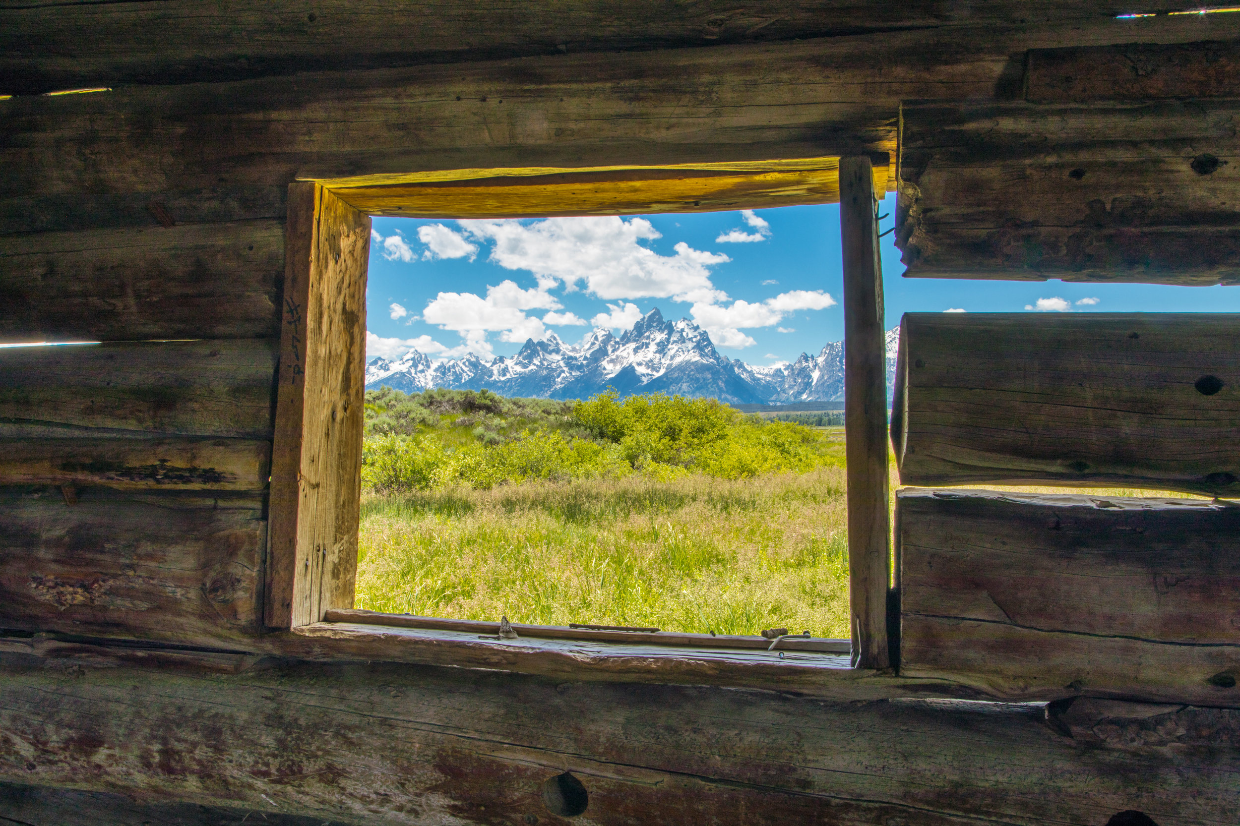 Cunningham Cabin, Grand Teton National Park, Image # 8185