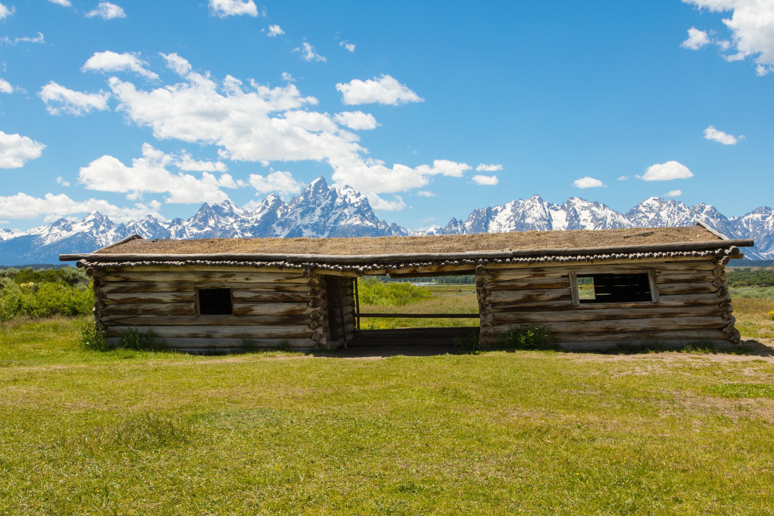 Cunningham Cabin, Grand Teton National Park, Image # 8203