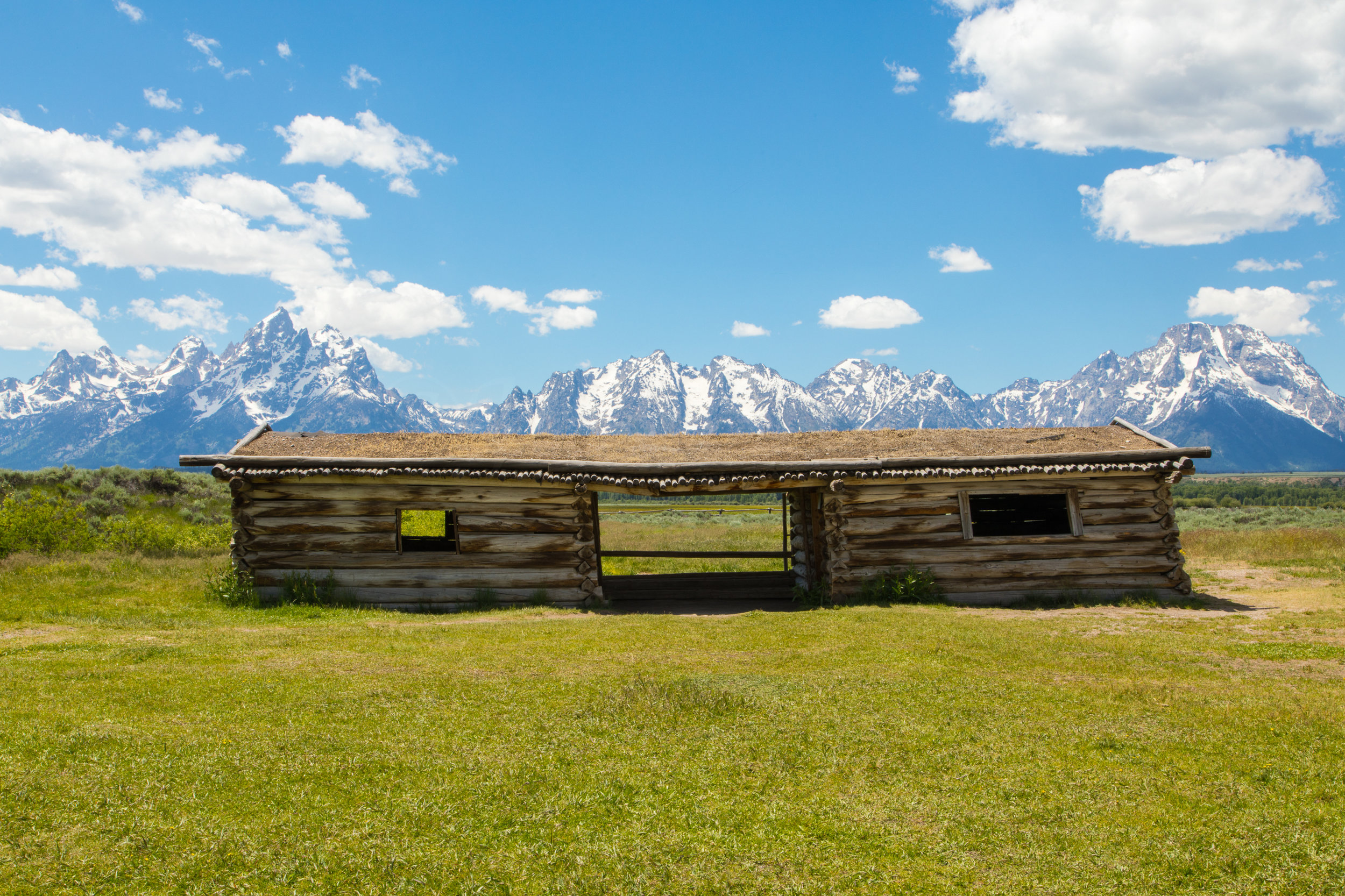 Cunningham Cabin, Grand Teton National Park, Image # 8218