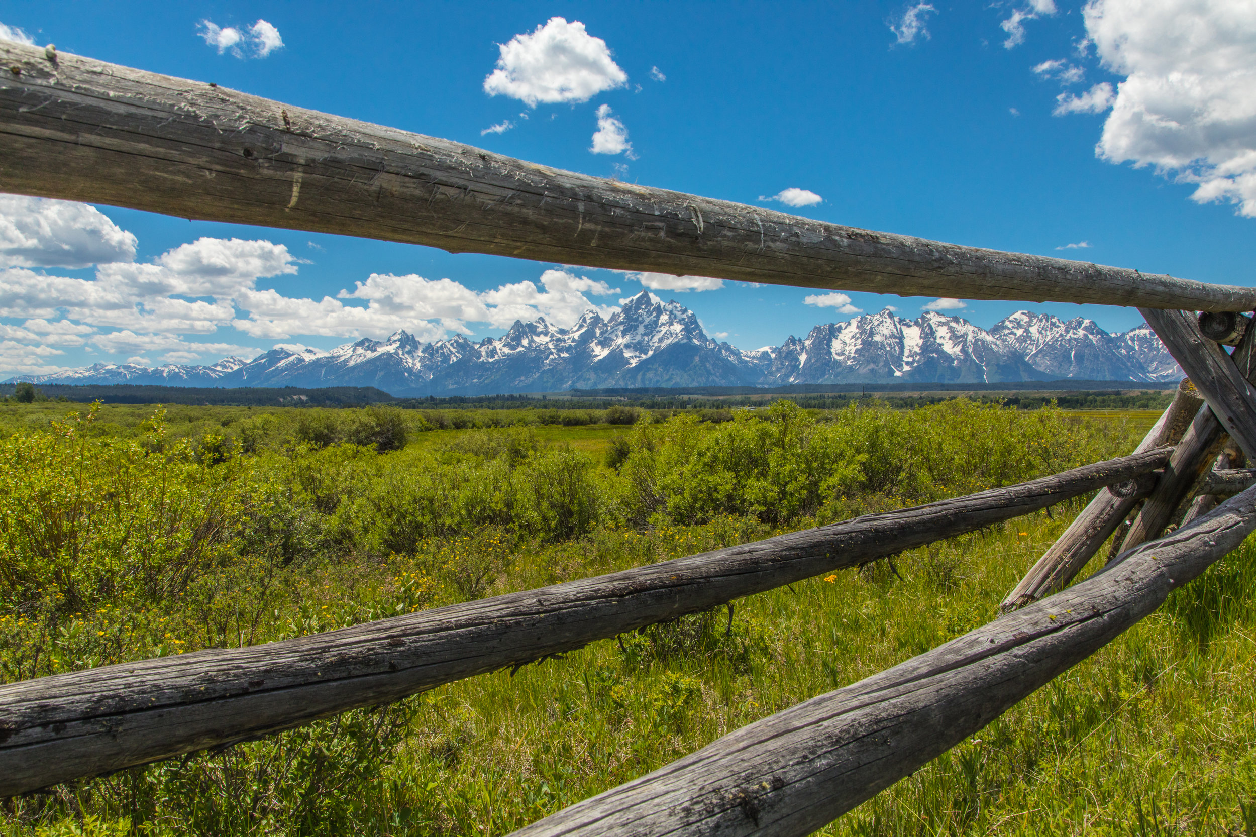 Cunningham Cabin, Grand Teton National Park, Image # 8320