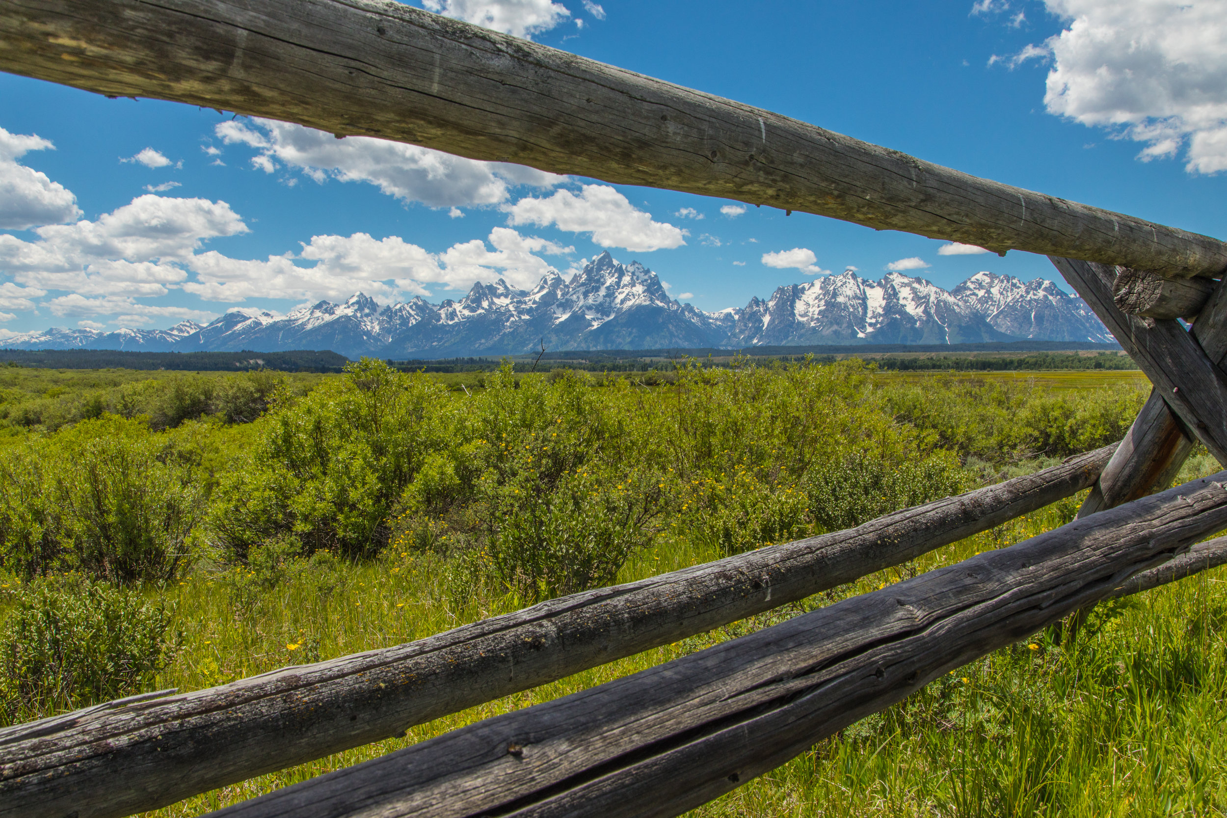 Cunningham Cabin, Grand Teton National Park, Image # 8332