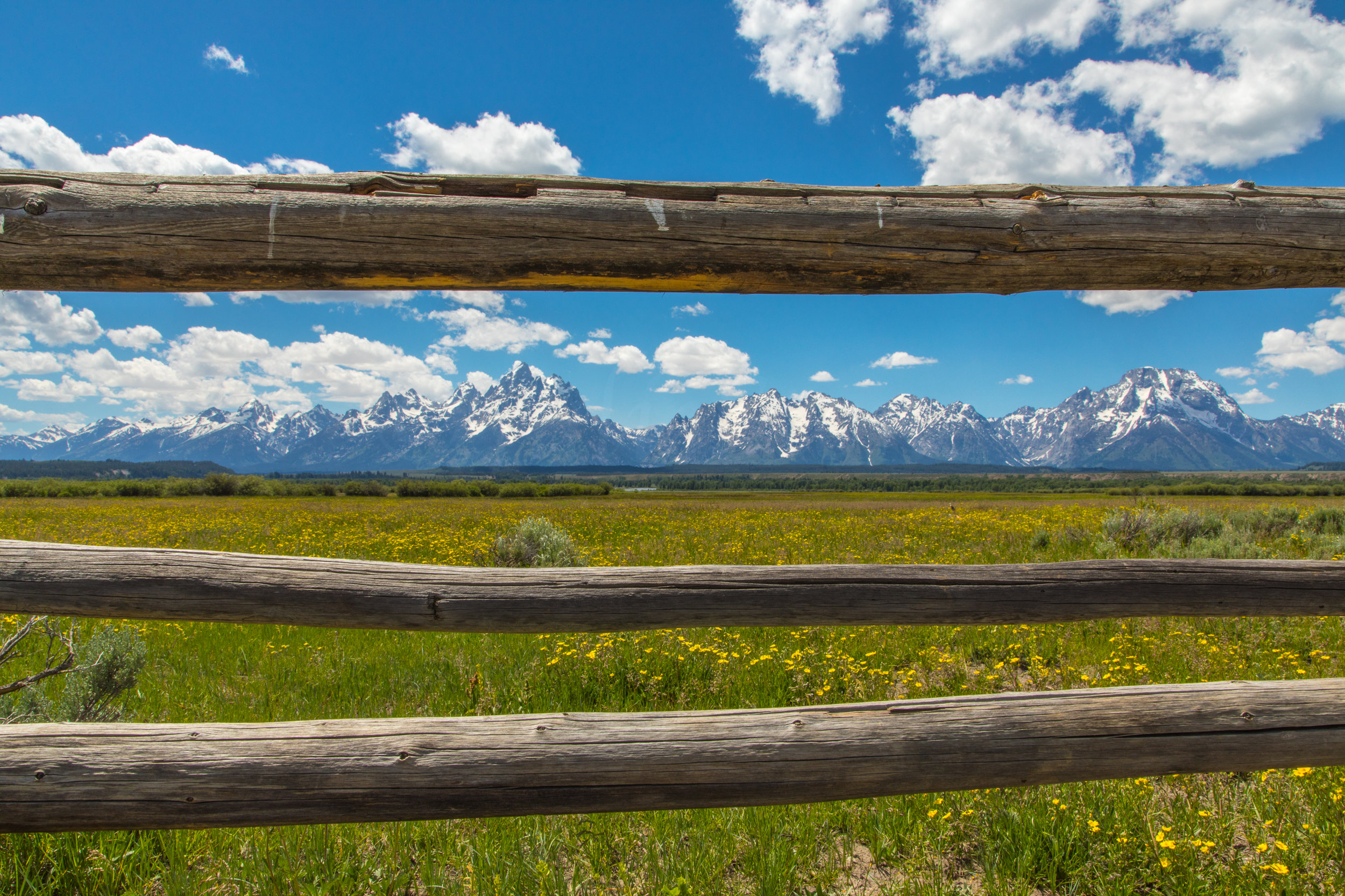 Cunningham Cabin, Grand Teton National Park, Image # 8373