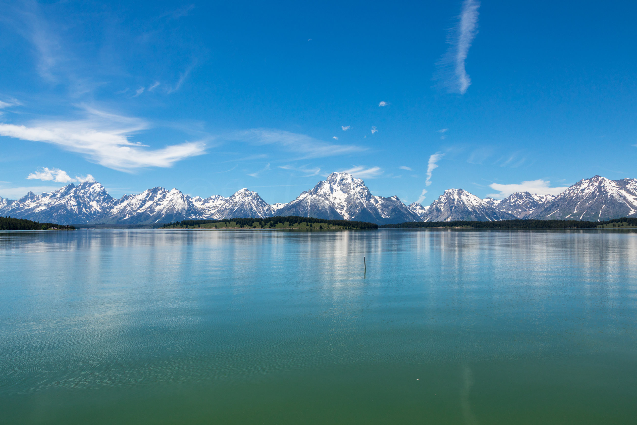 Teton Range Reflection, Image # 2592