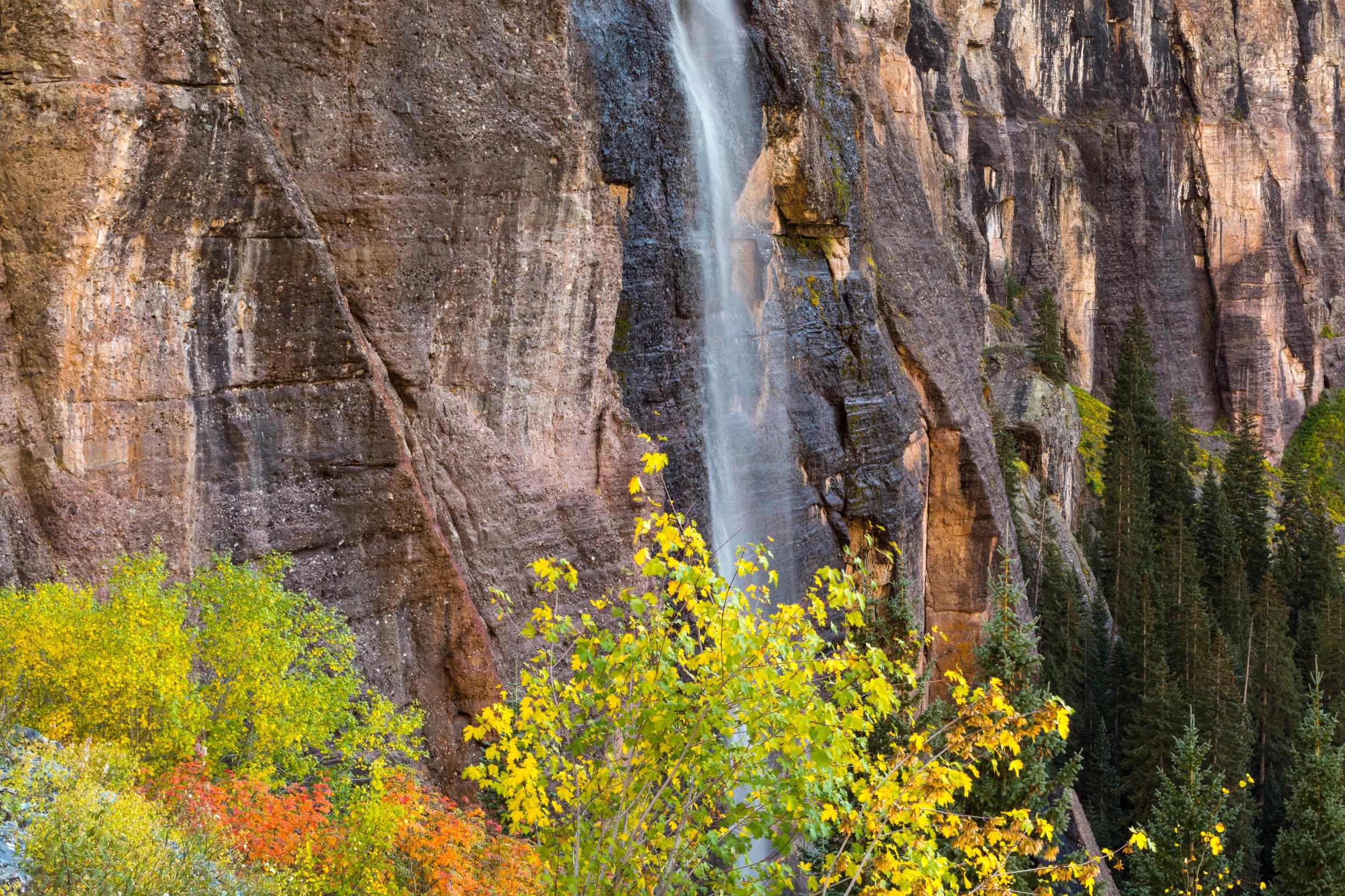 Bridal Veil Falls, Telluride, Image # 3195