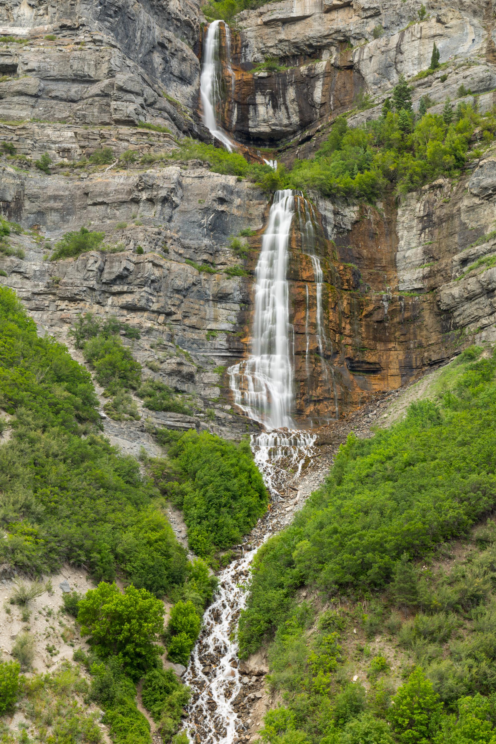 Bridal Veil Falls, Provo Canyon, Image # 0751