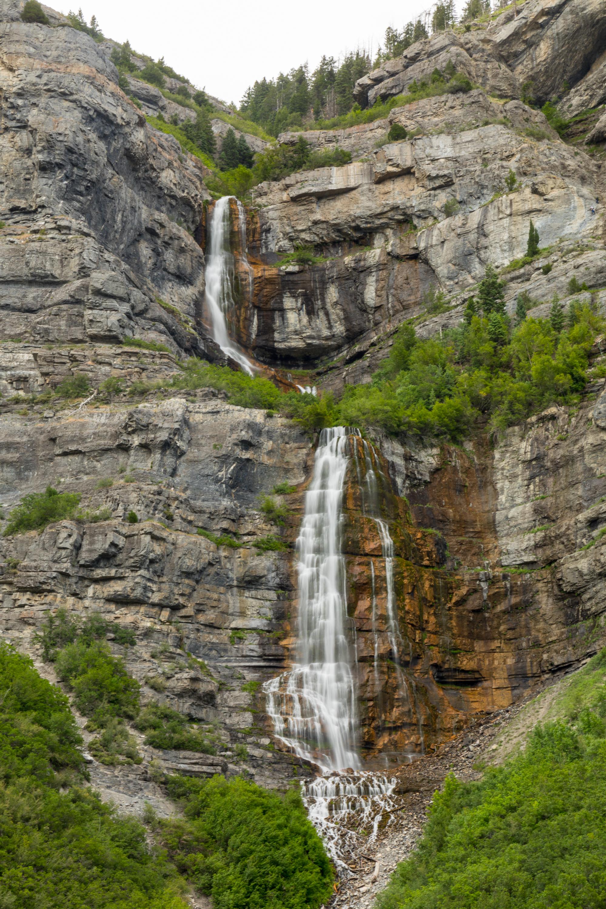 Bridal Veil Falls, Provo Canyon, Image # 0761