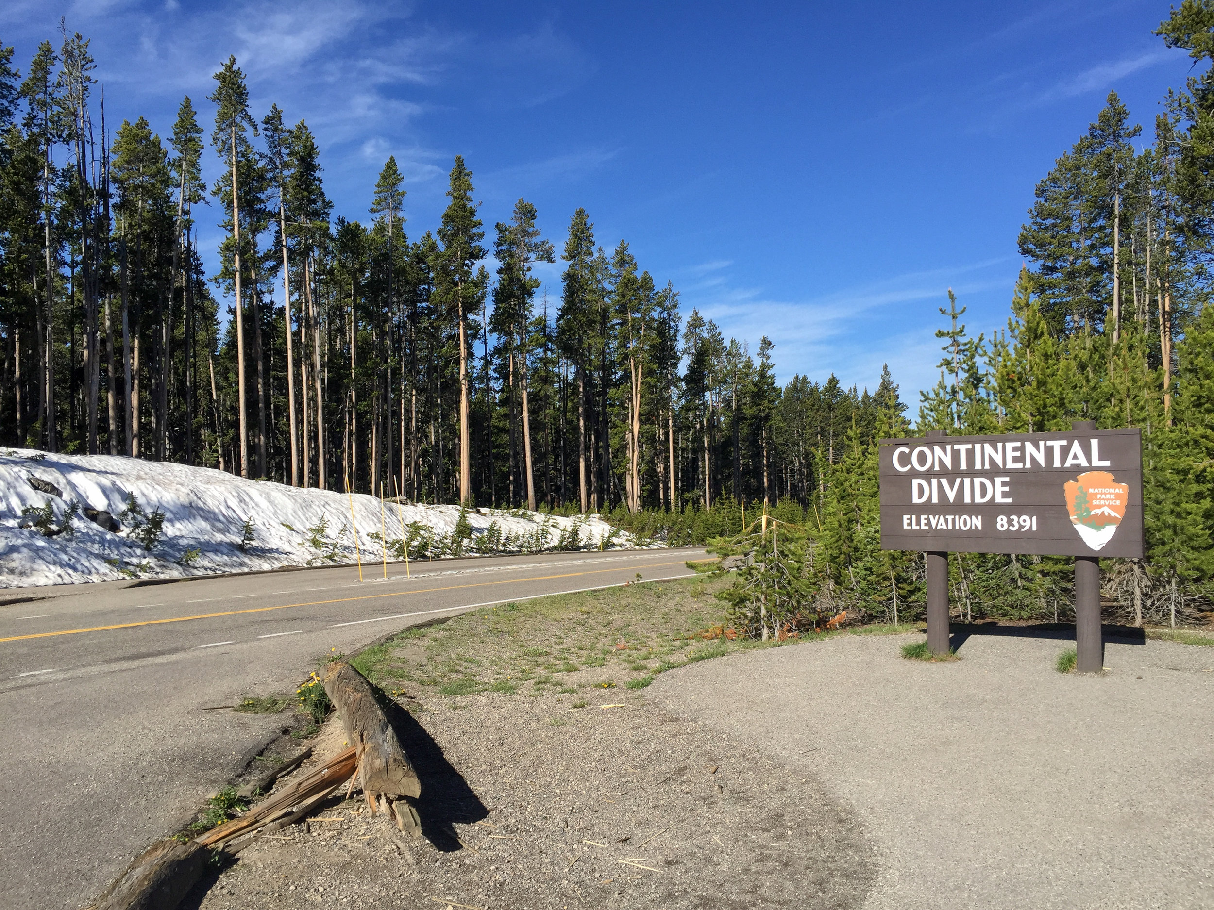 Continental Divide, Yellowstone National Park, Image # 9810