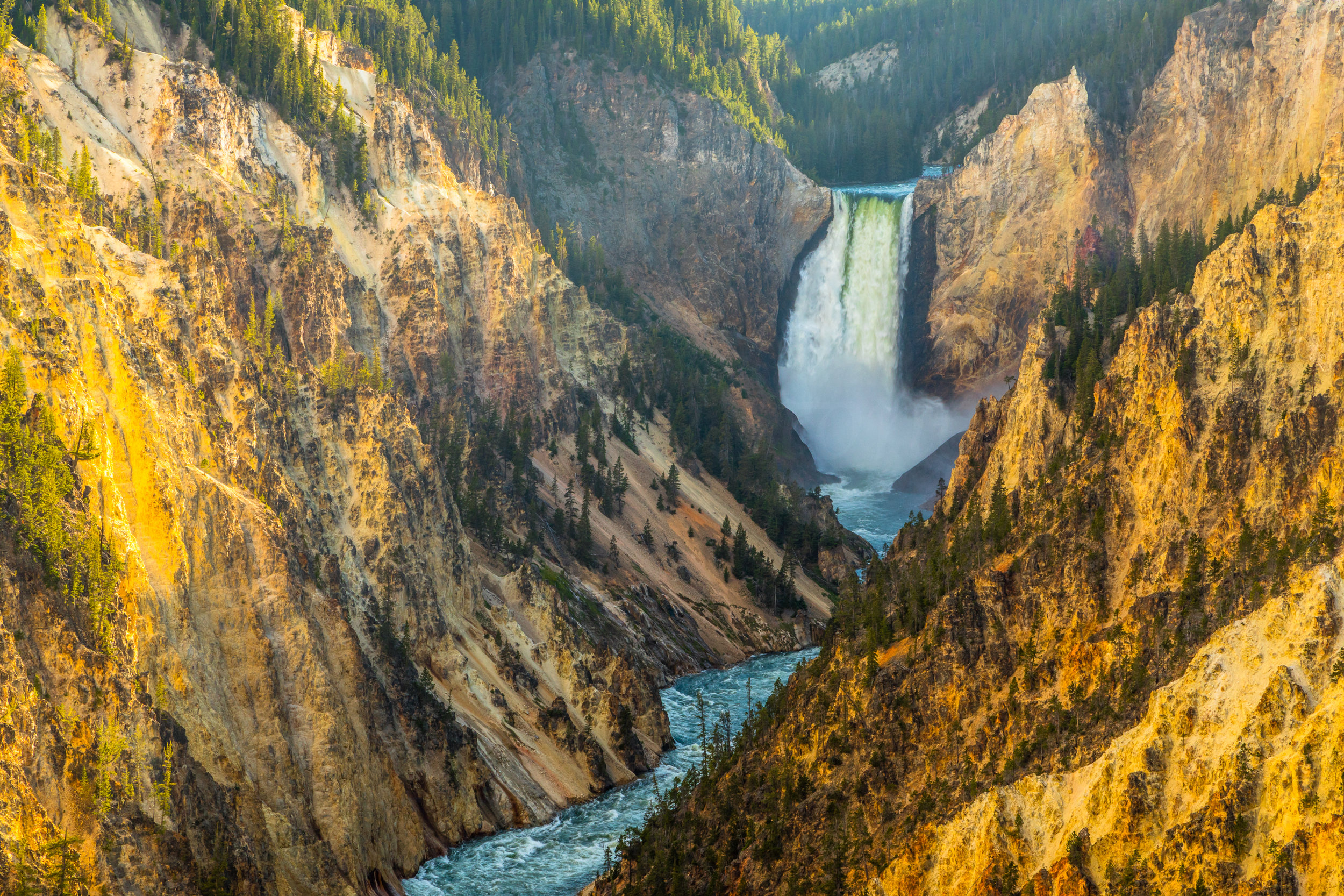 Artist Point, Yellowstone National Park, Image # 5937