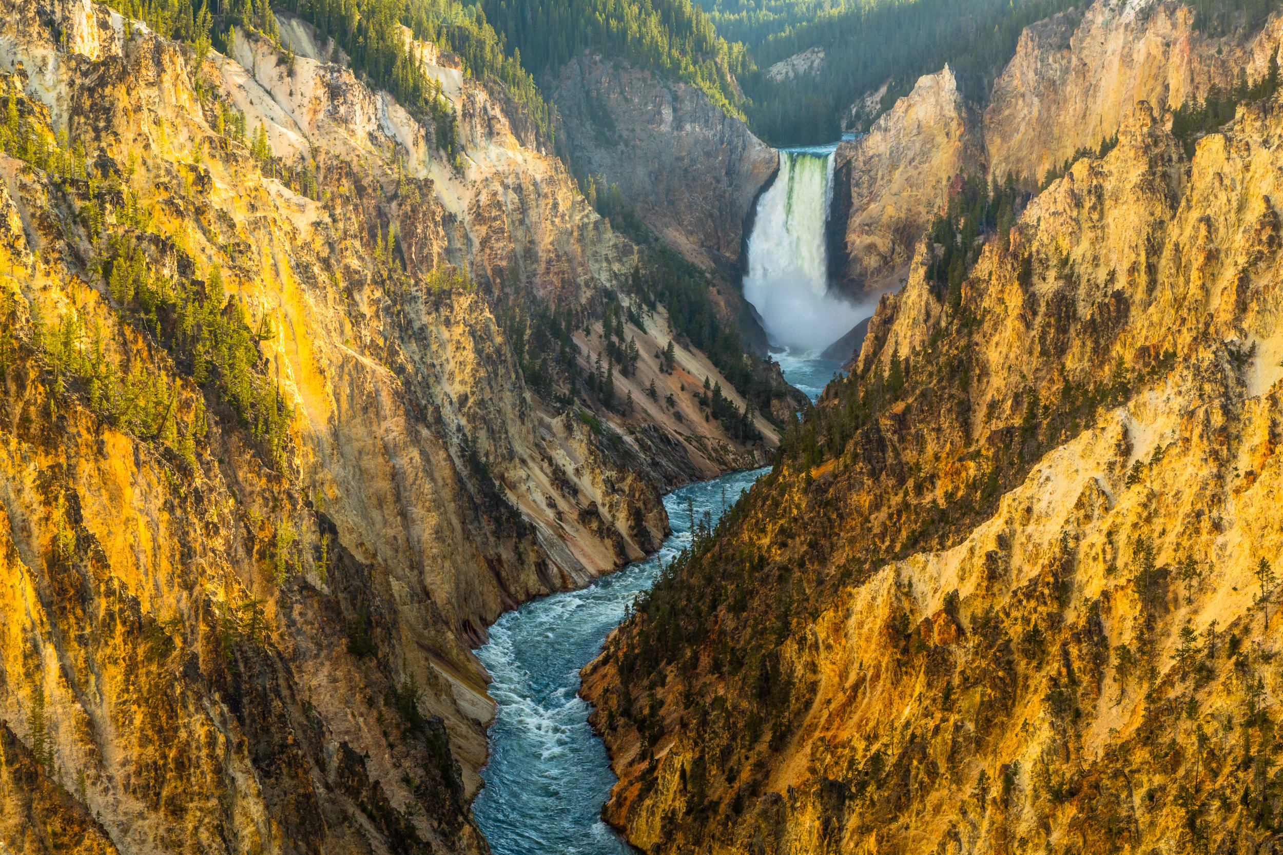 Artist Point, Yellowstone National Park, Image # 5940