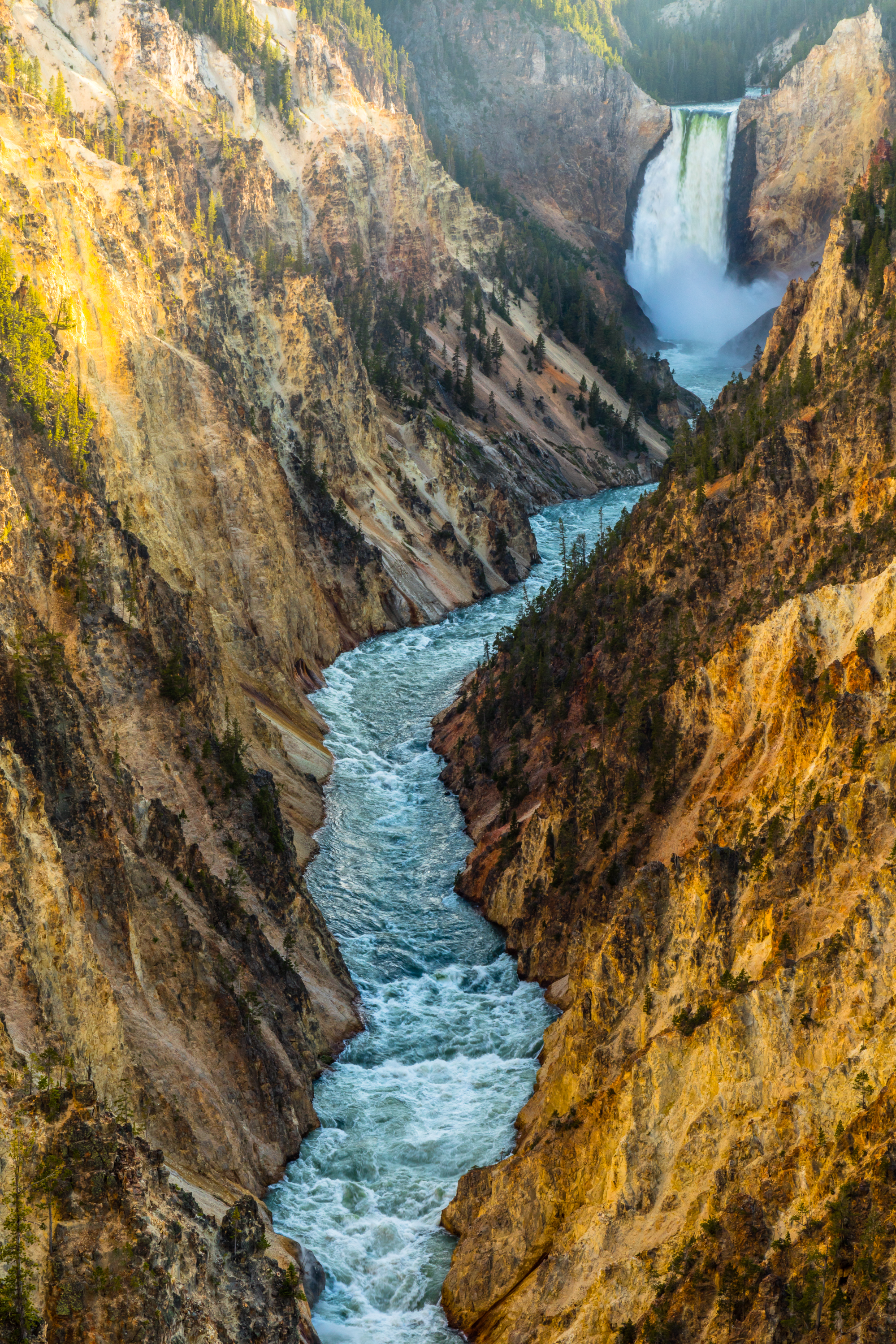 Artist Point, Yellowstone National Park, Image # 6013