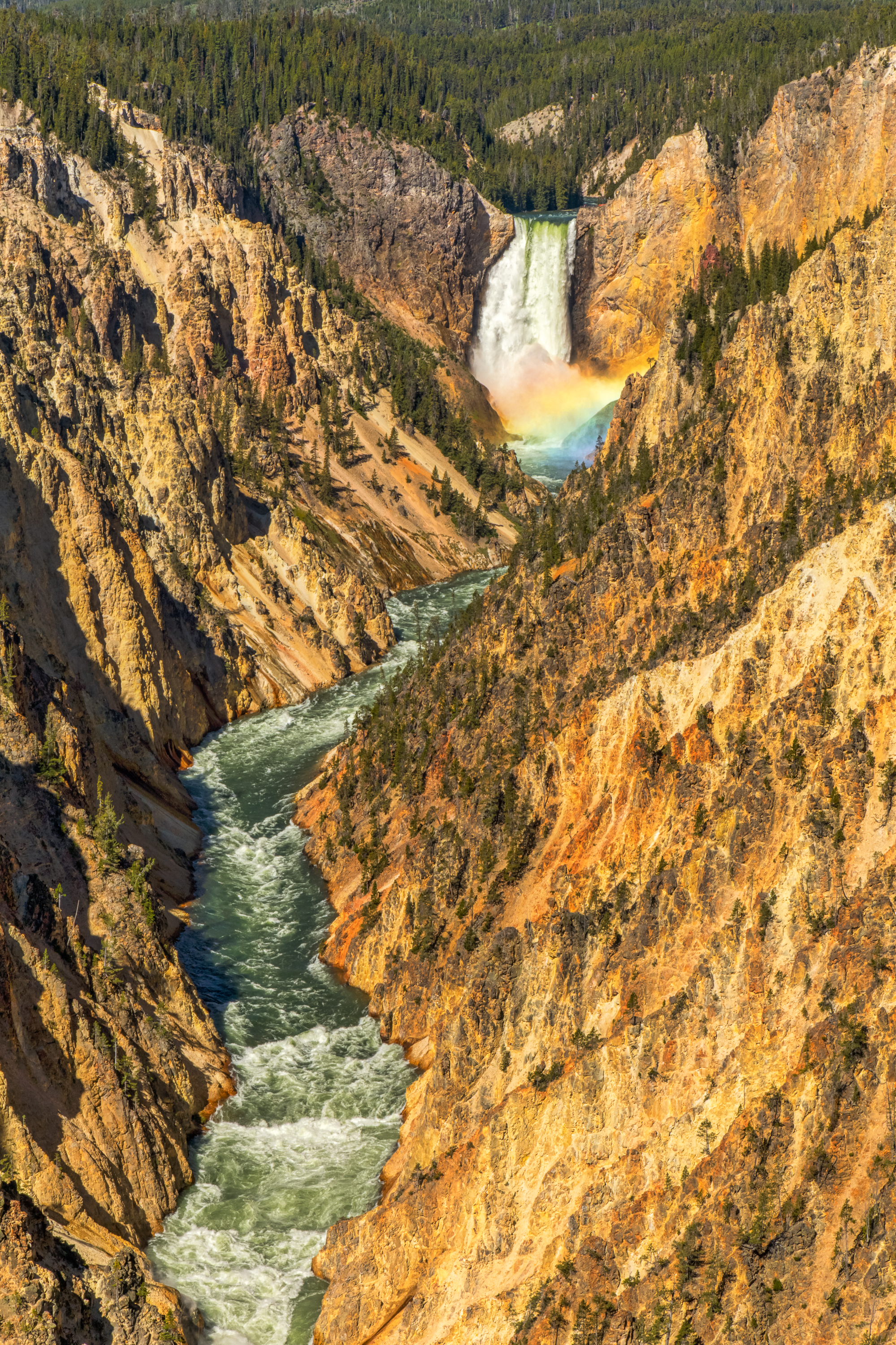 Artist Point, Yellowstone National Park, Image # 6984