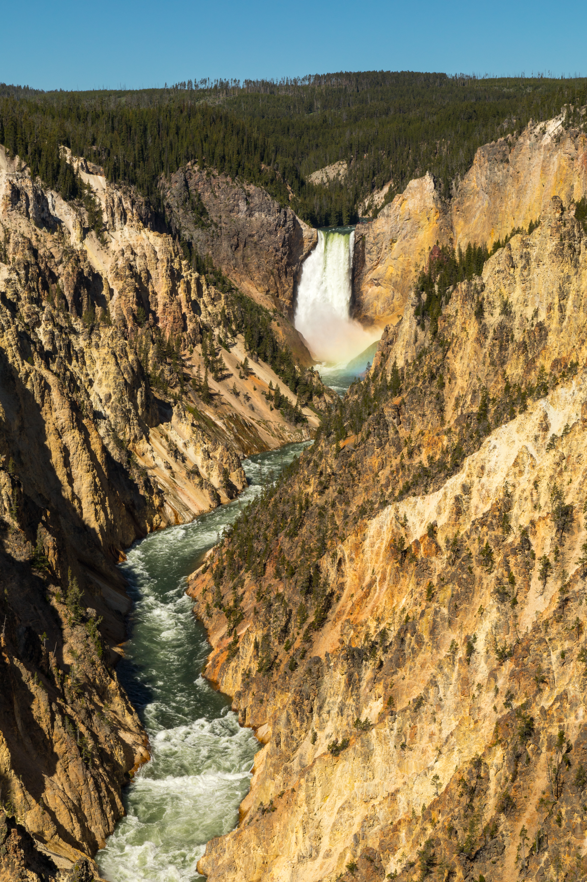 Artist Point, Yellowstone National Park, Image # 6993