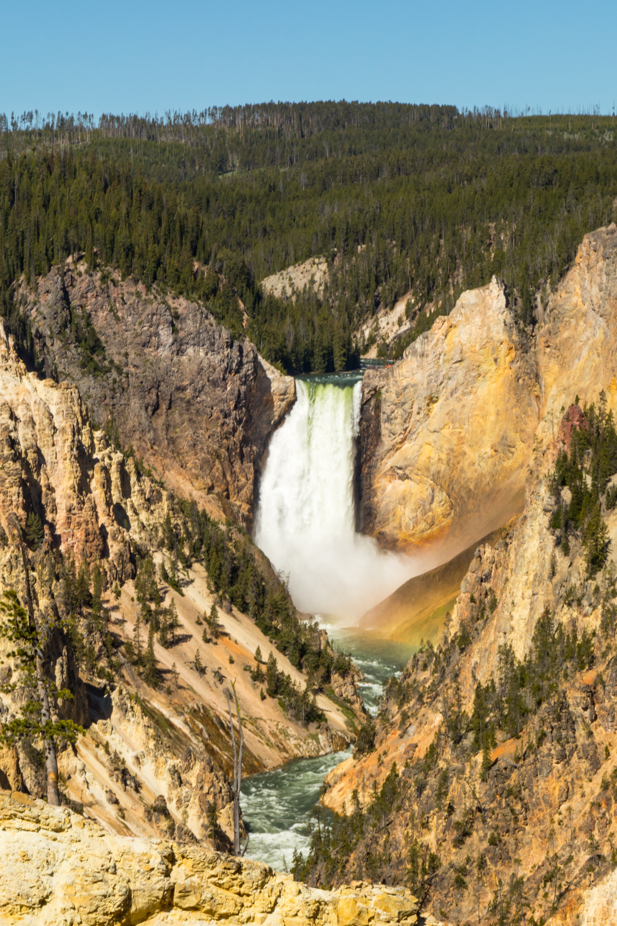 Artist Point, Yellowstone National Park, Image # 7079