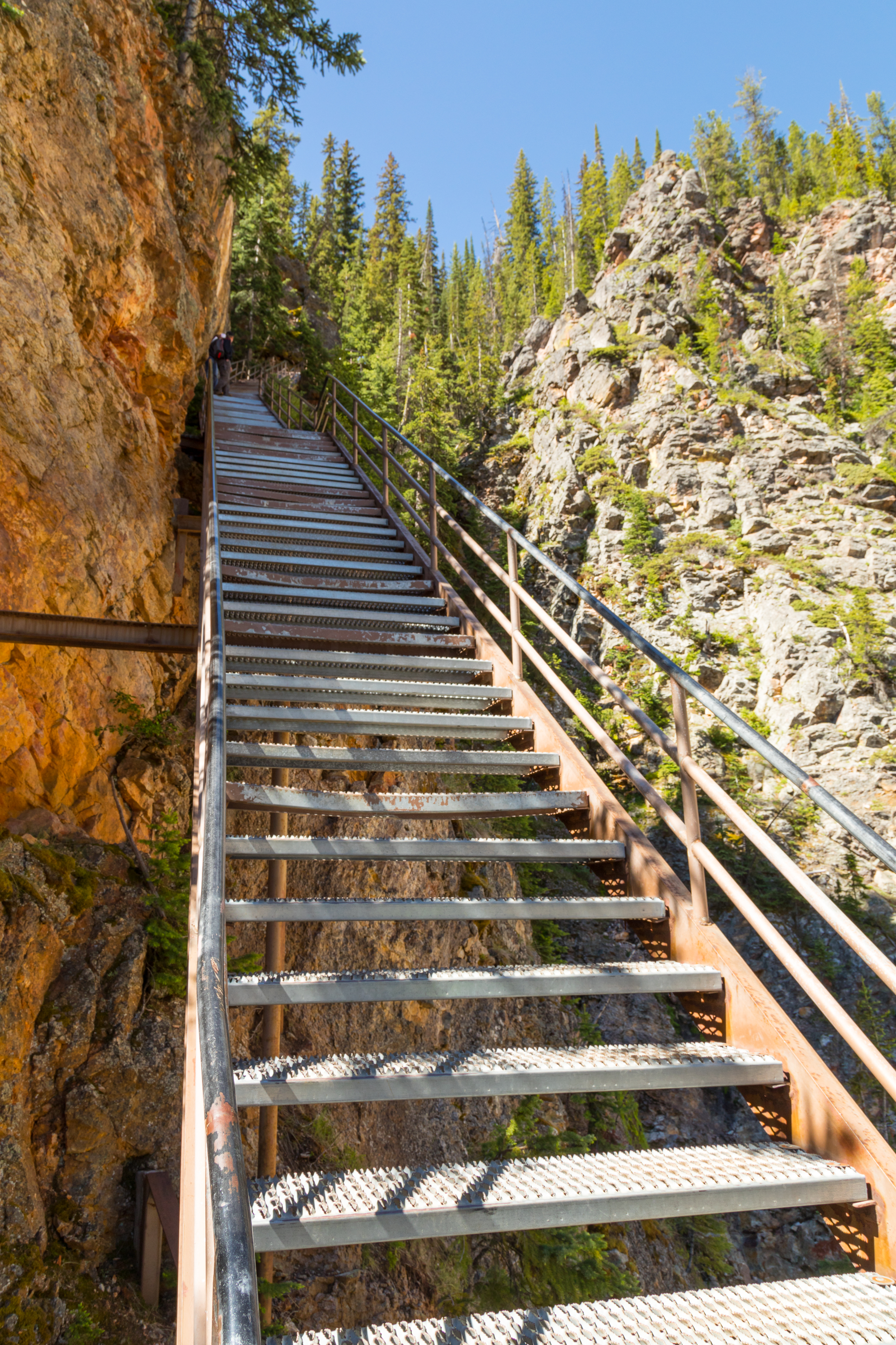 Uncle Tom's Trail, Yellowstone National Park, Image # 7130