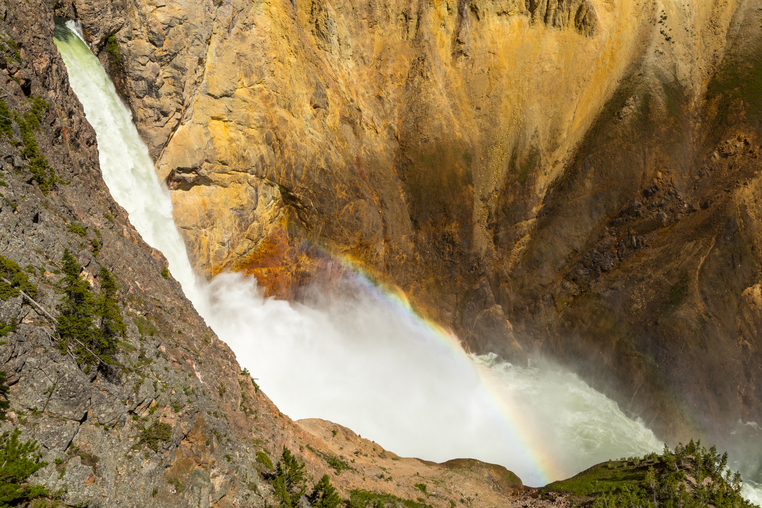 Uncle Tom's Trail, Yellowstone National Park, Image # 7142
