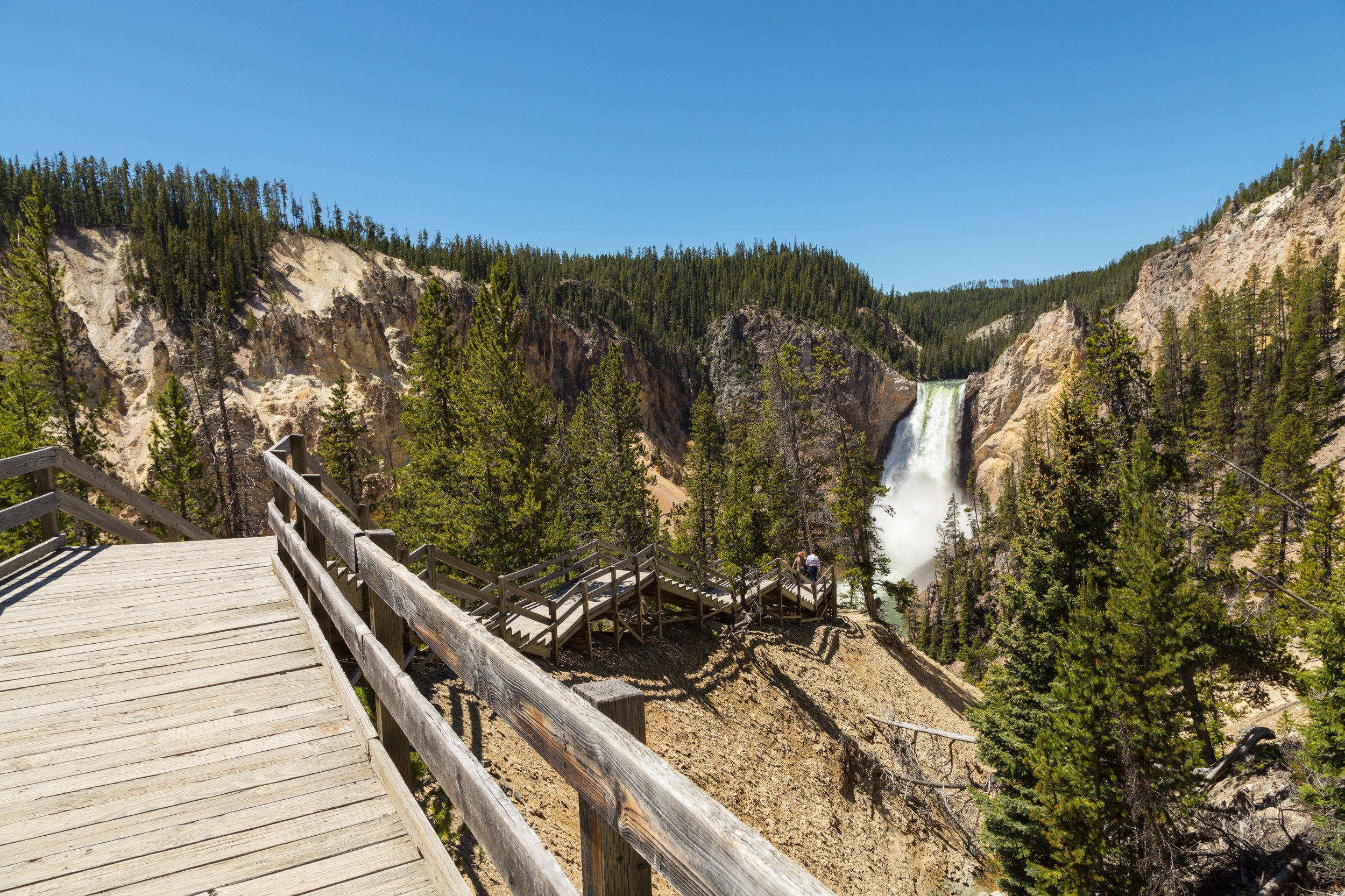 Artist Point, Yellowstone National Park, Image # 7298