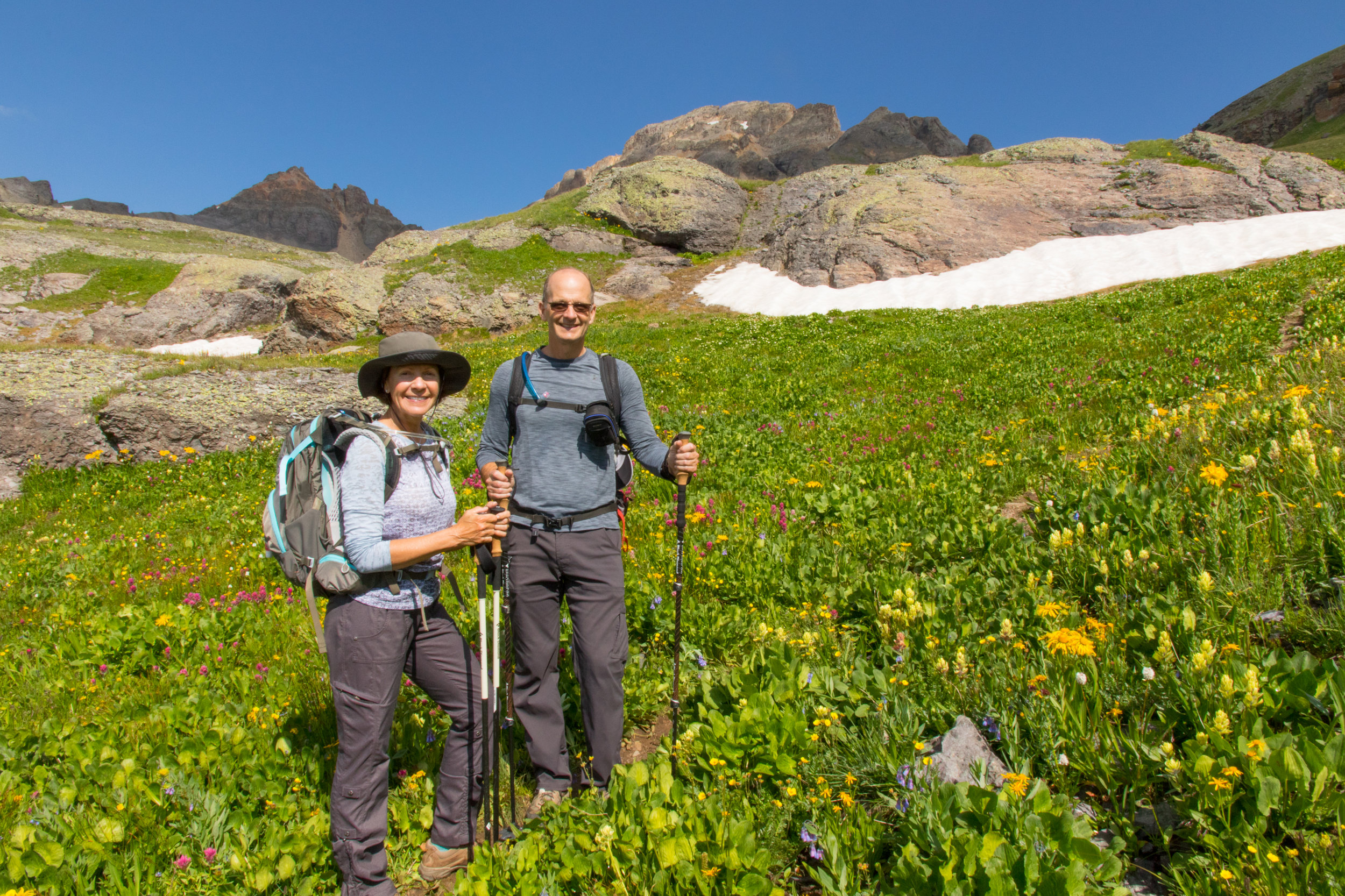 Tim & Angela Bouchard, Island Lake Hike, Image # 9112