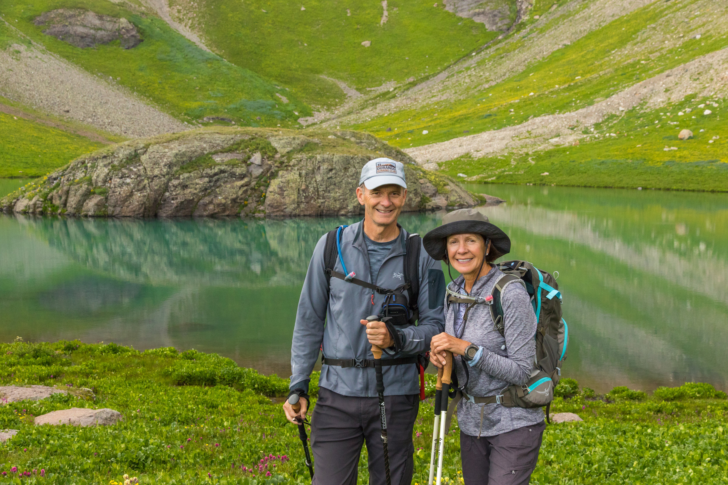 Tim & Angela Bouchard, Island Lake Hike, Image # 9221