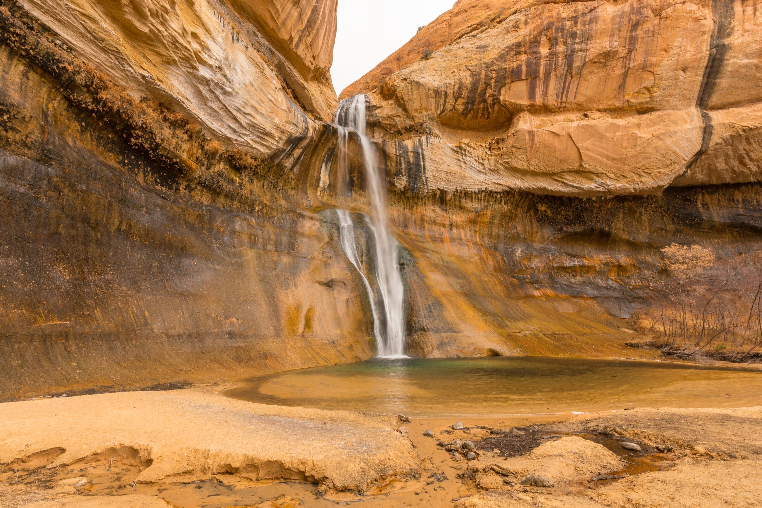 Lower Calf Creek Falls, Image # 3432