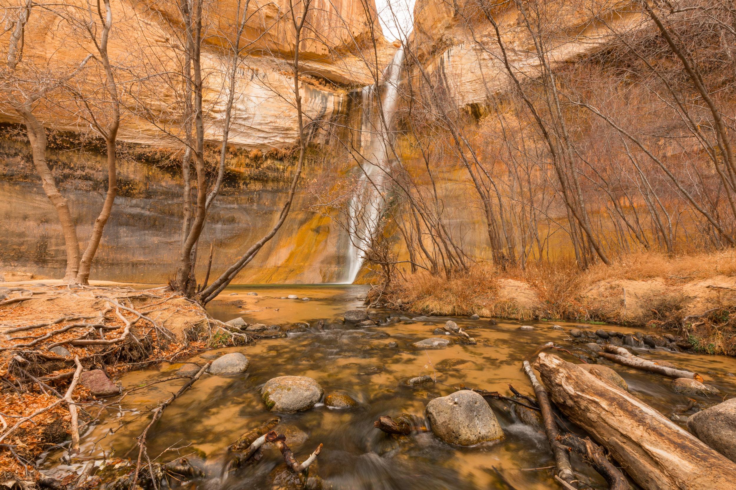 Lower Calf Creek Falls, Image # 3599