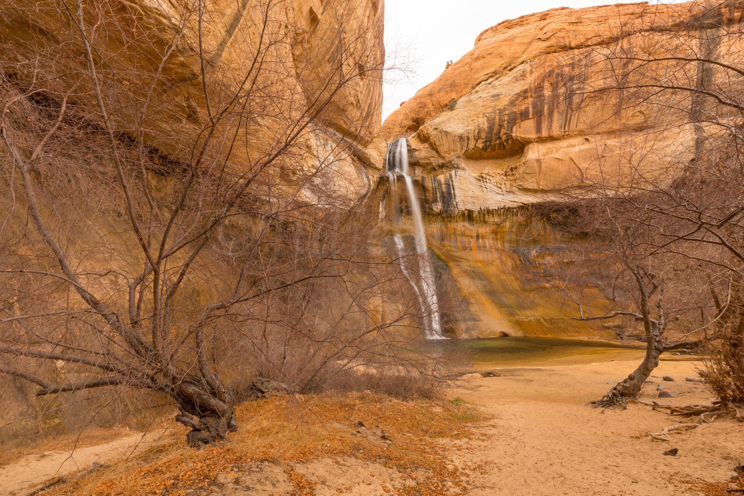 Lower Calf Creek Falls, Image # 3618
