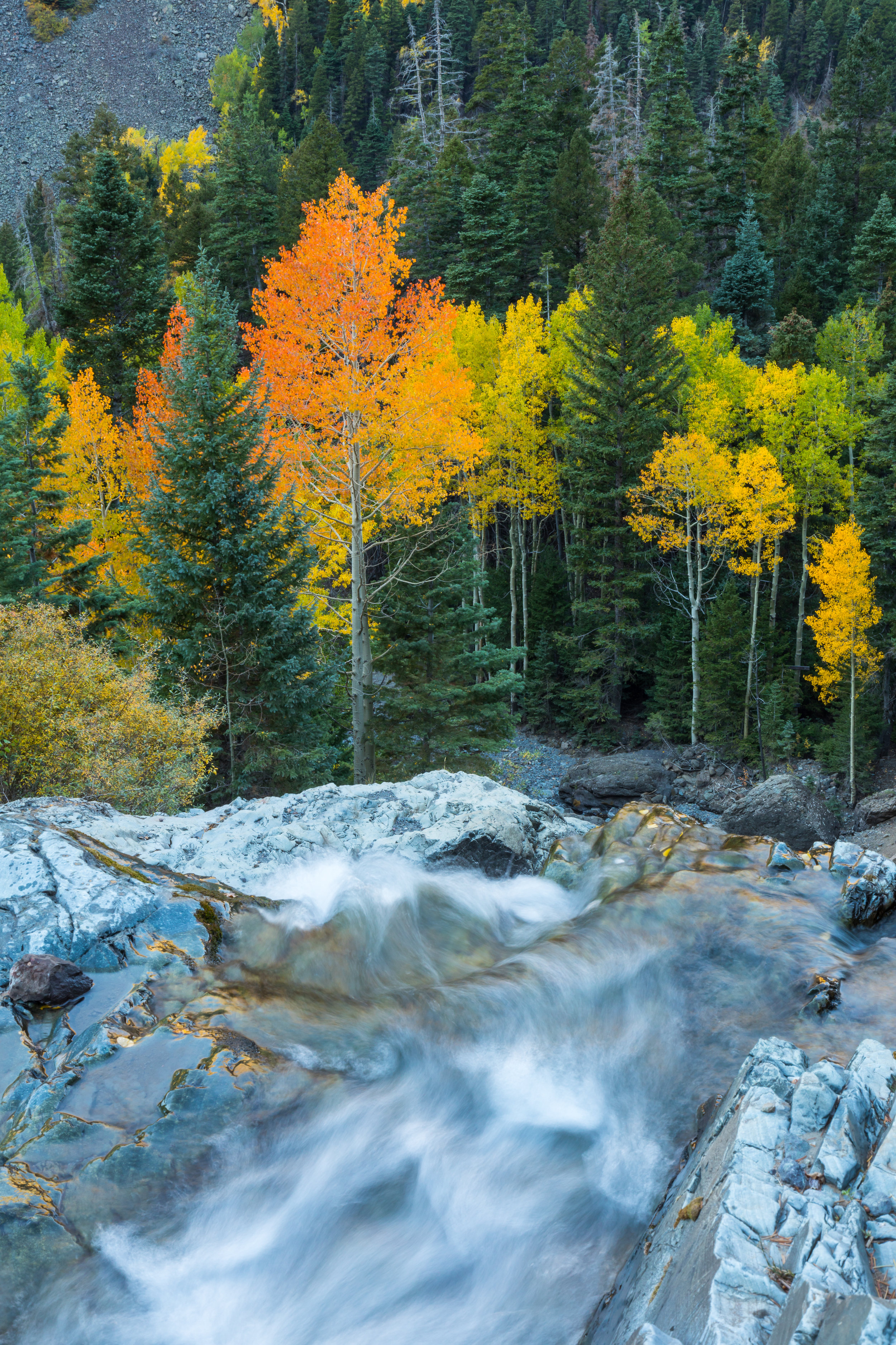 Ouray Waterfall, Image # 9142