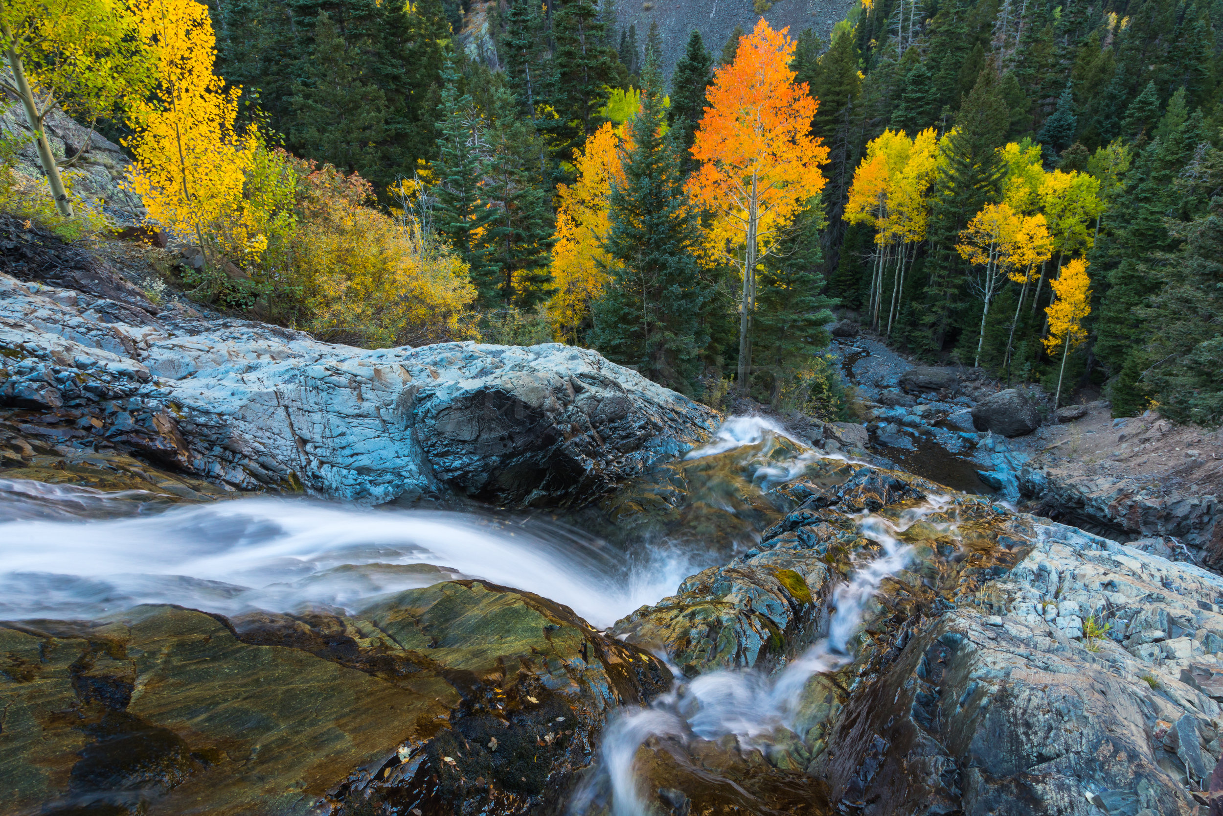 Ouray Waterfall, Image # 9519