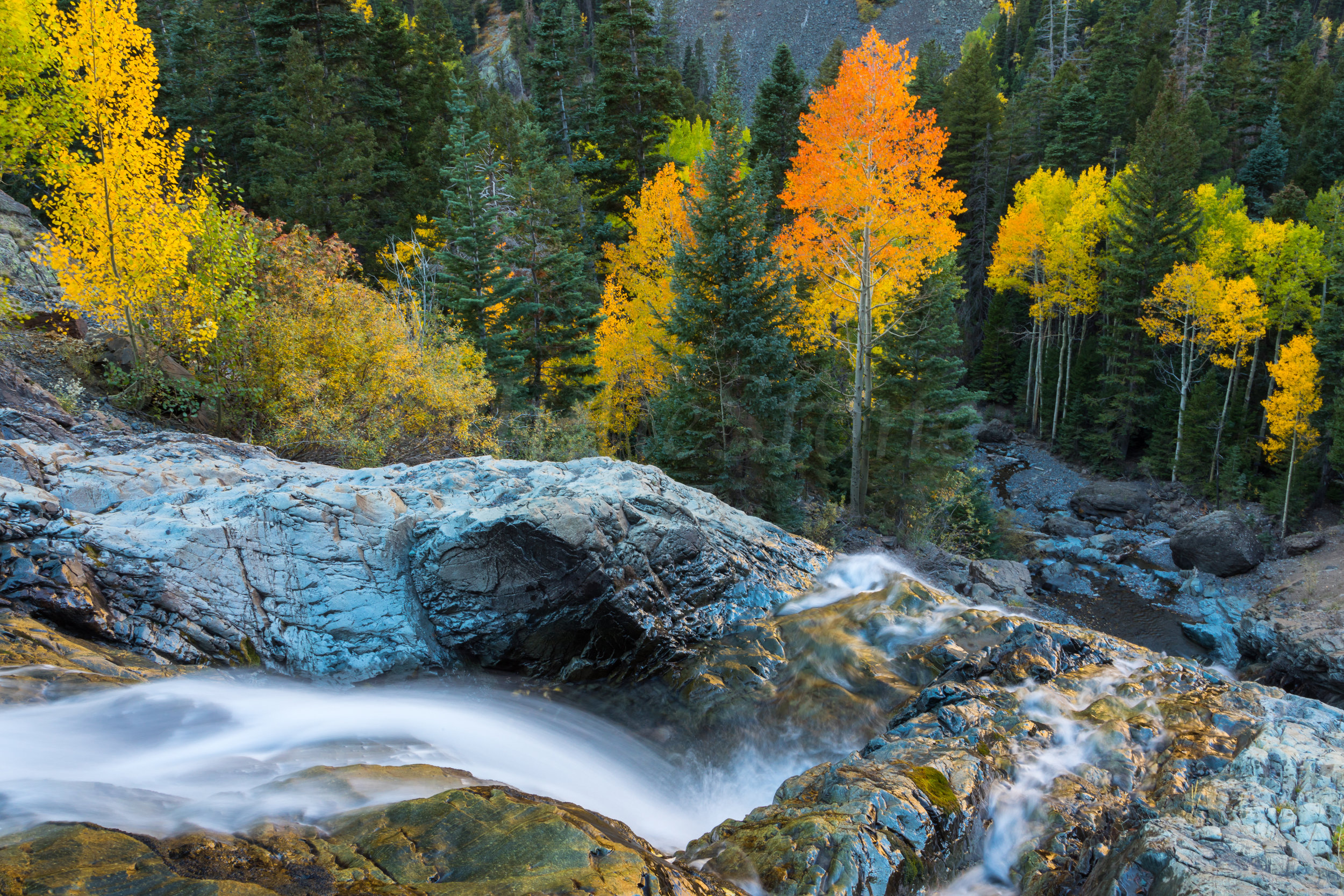 Ouray Waterfall, Image # 9556