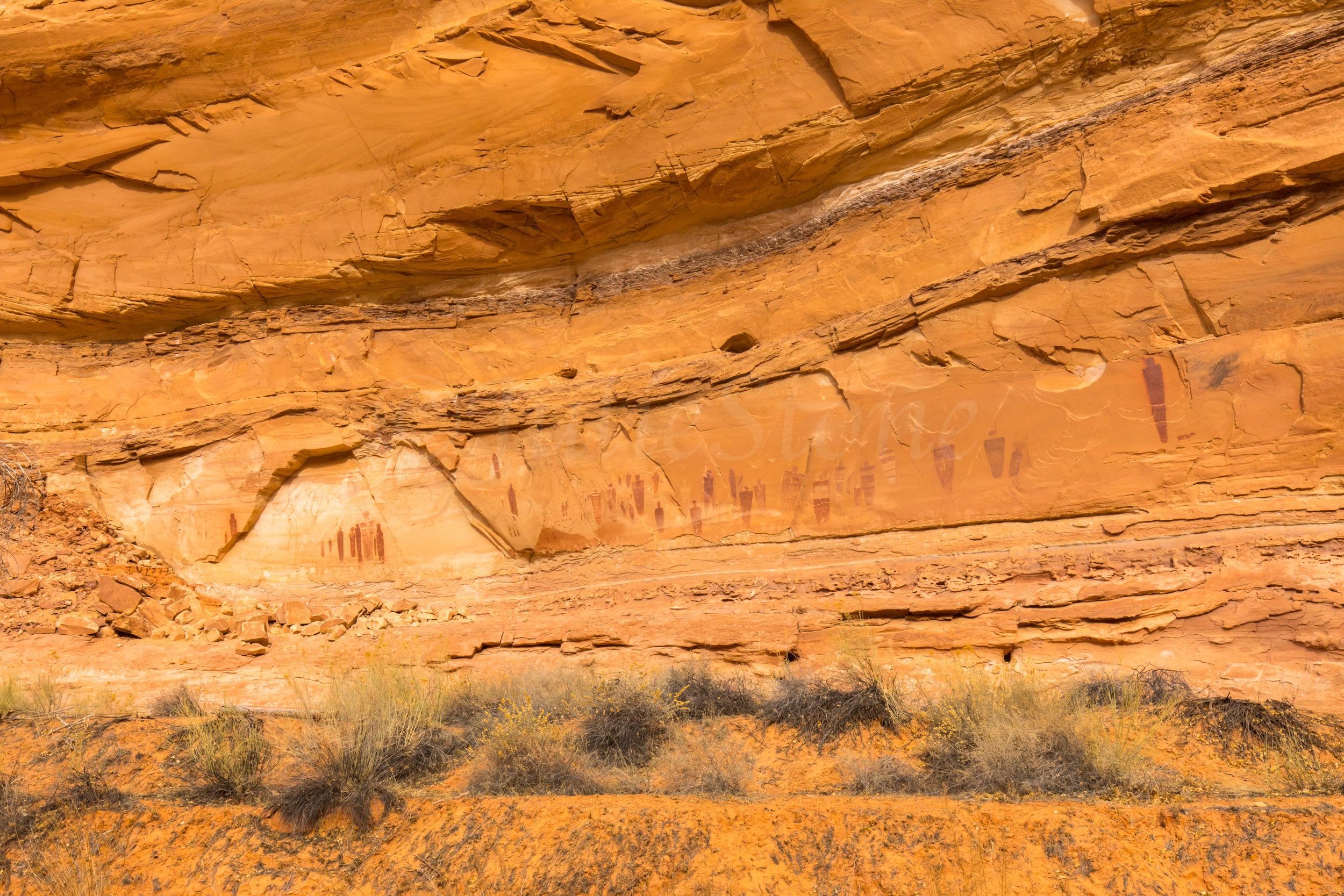 Horseshoe Canyon, Image # 8015
