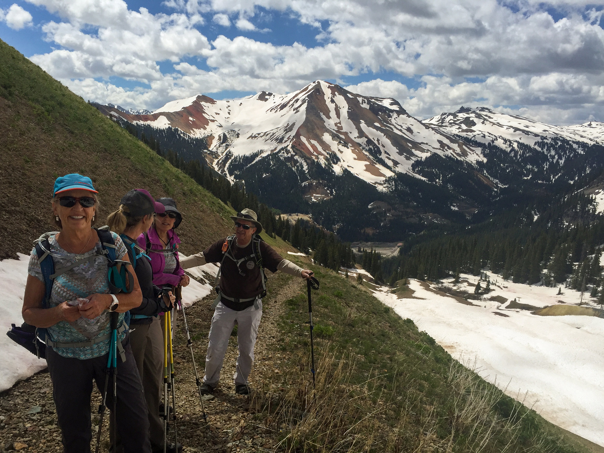 Team Everest is back on the dry trail