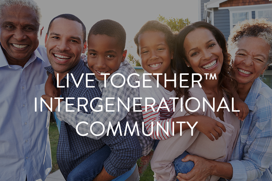 Originator of multi-generational model Supporter of person-centered approach Completed example concepts  Evaluates sites Establishes workforce development plan Completes staffing recommendations Identifies services/amenities Development of education / training program Developer of Live Together™ Operator of Live Together™