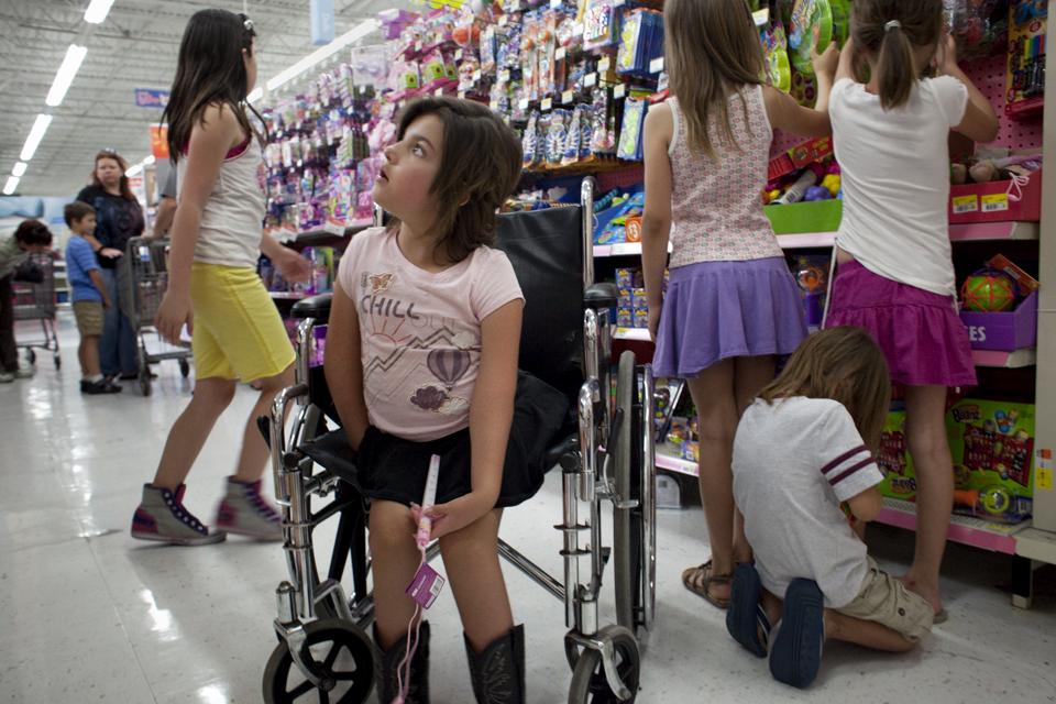 Alyssa toy shopping