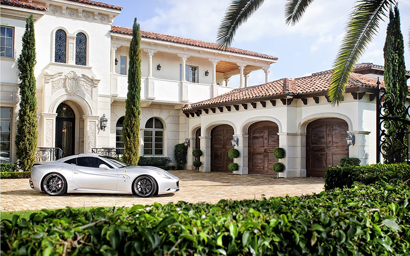 Luxury home for athletes